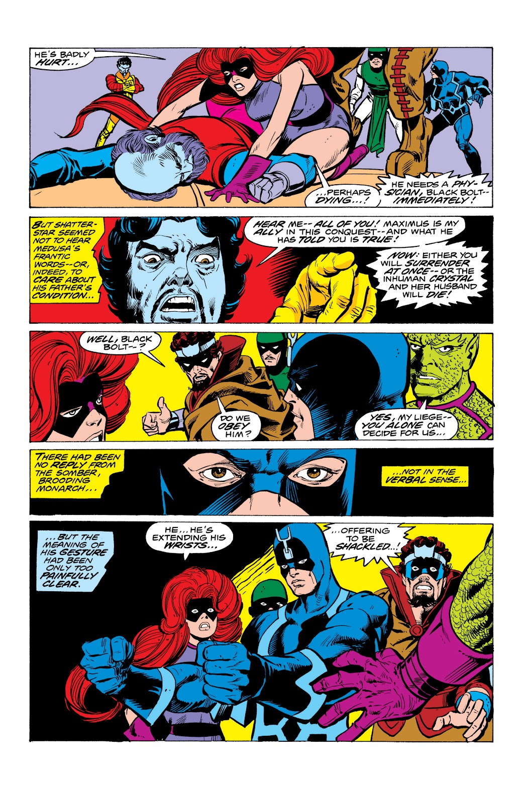 Read online Marvel Masterworks: The Inhumans comic -  Issue # TPB 2 (Part 1) - 88