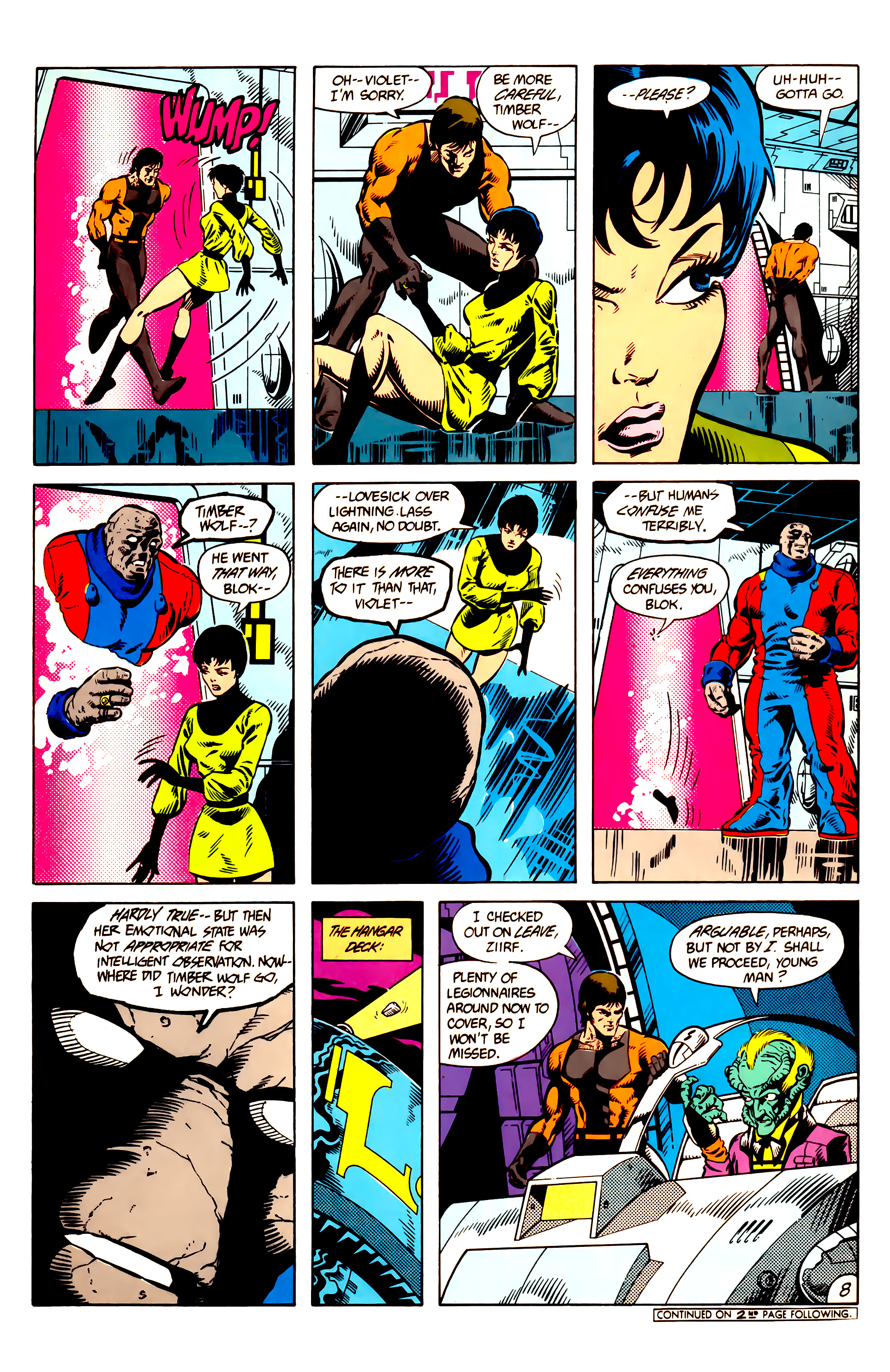 Legion of Super-Heroes (1984) 9 Page 9
