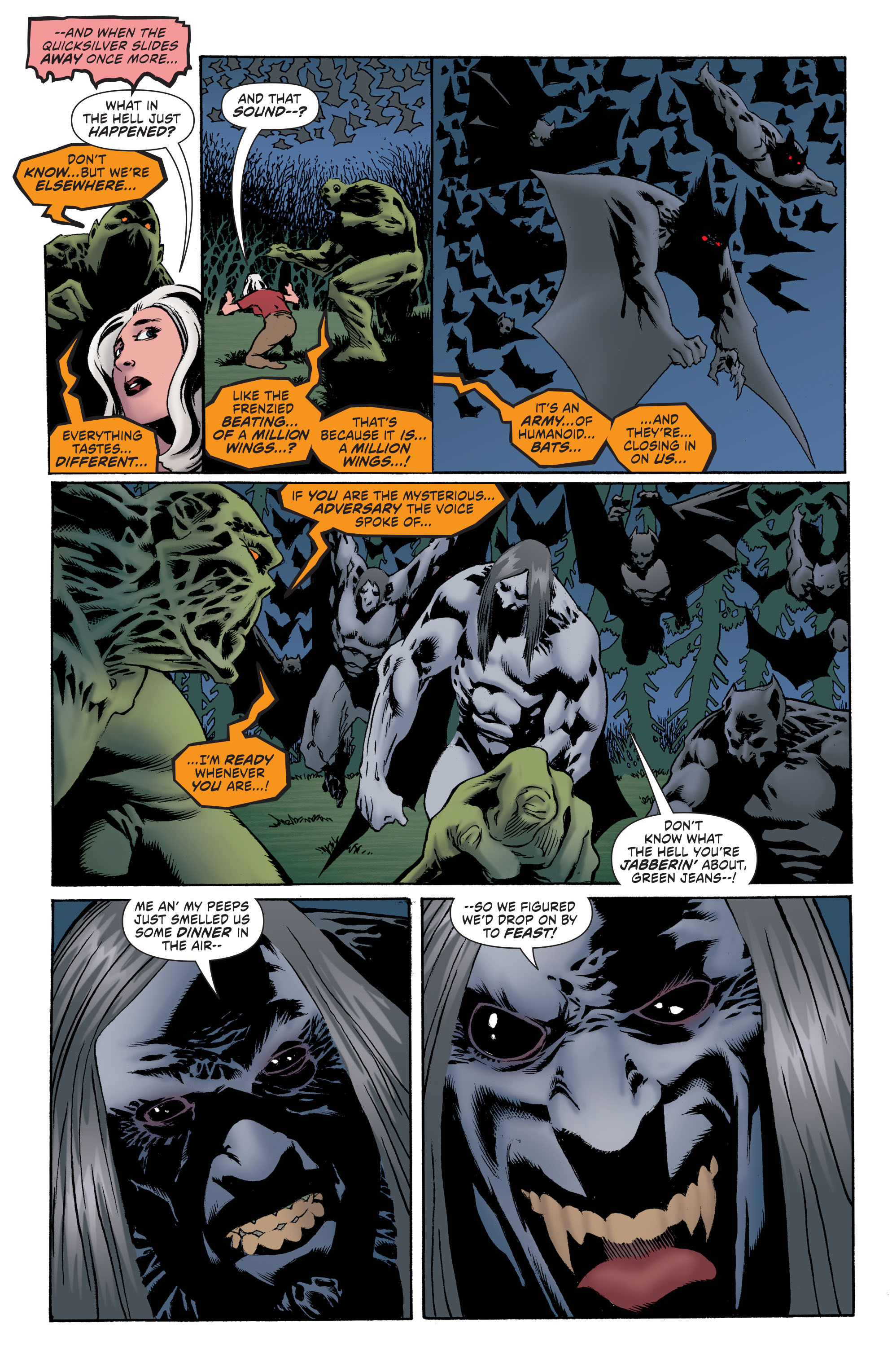 Read online Convergence Swamp Thing comic -  Issue #1 - 23