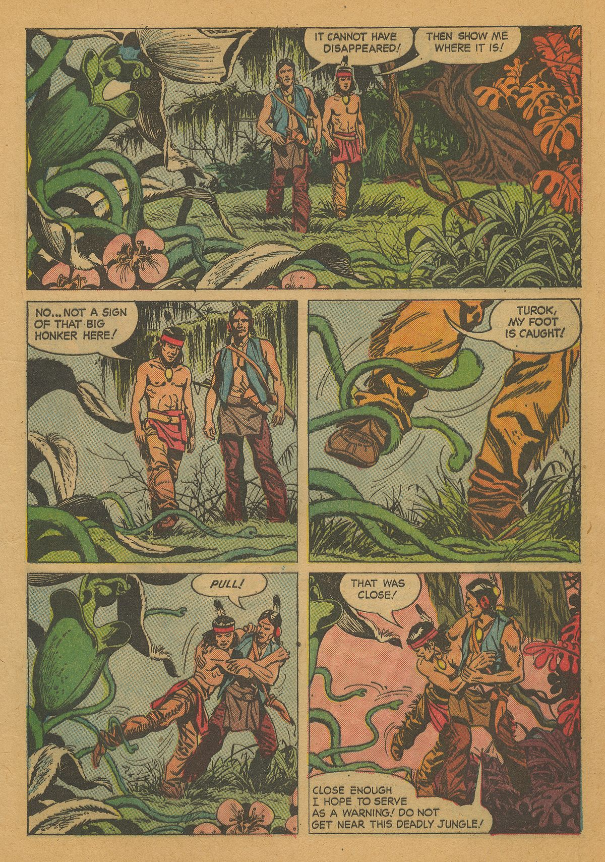Read online Turok, Son of Stone comic -  Issue #26 - 5