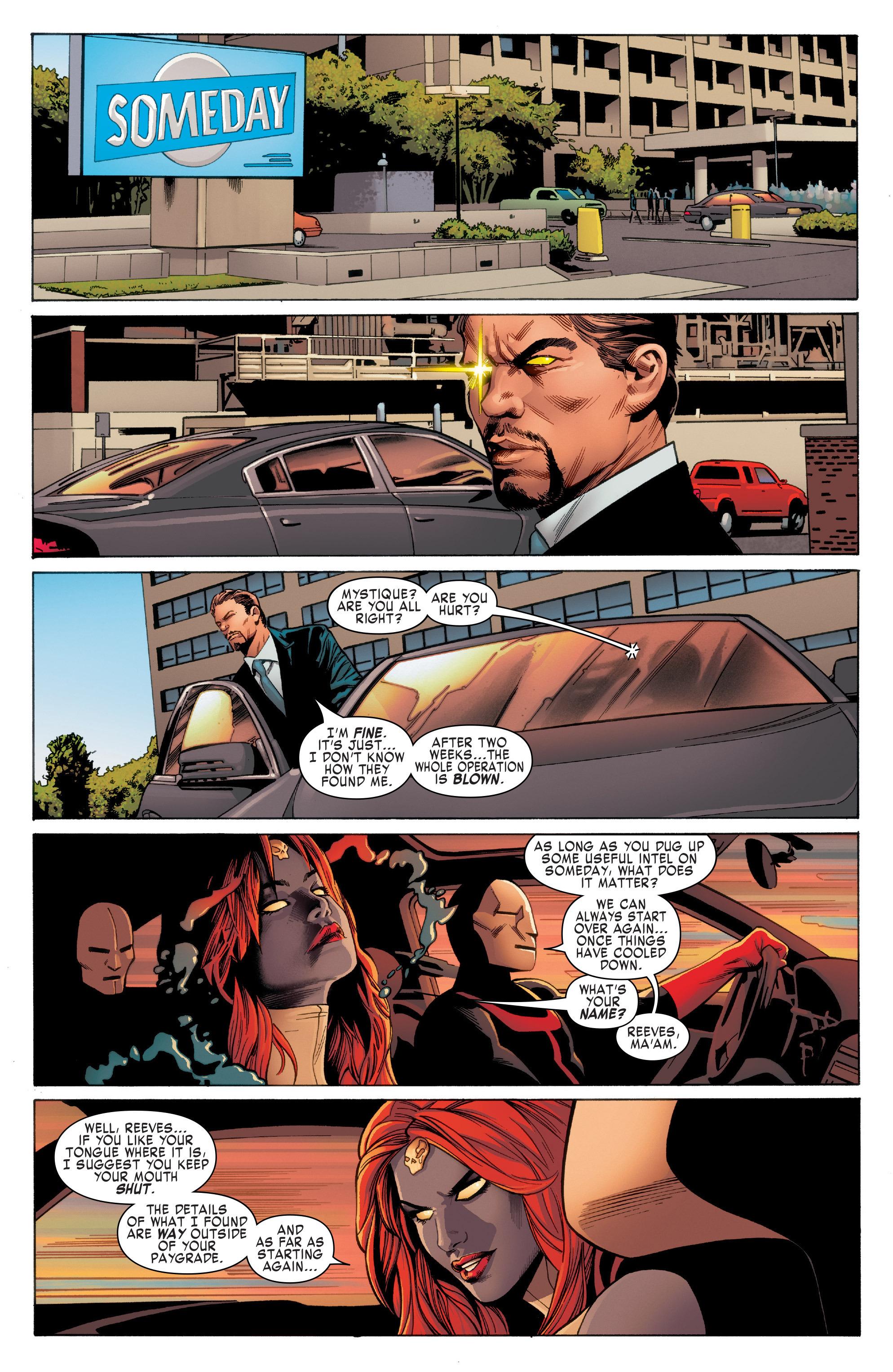 Read online Uncanny X-Men (2016) comic -  Issue #2 - 6
