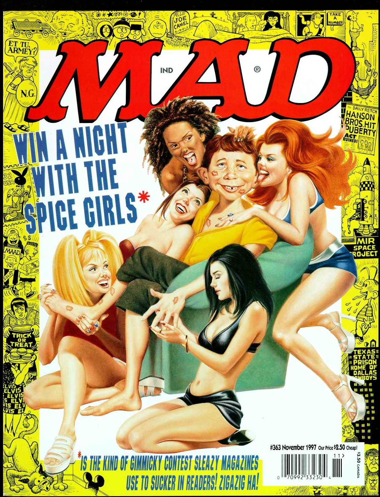 MAD issue 363 - Page 1