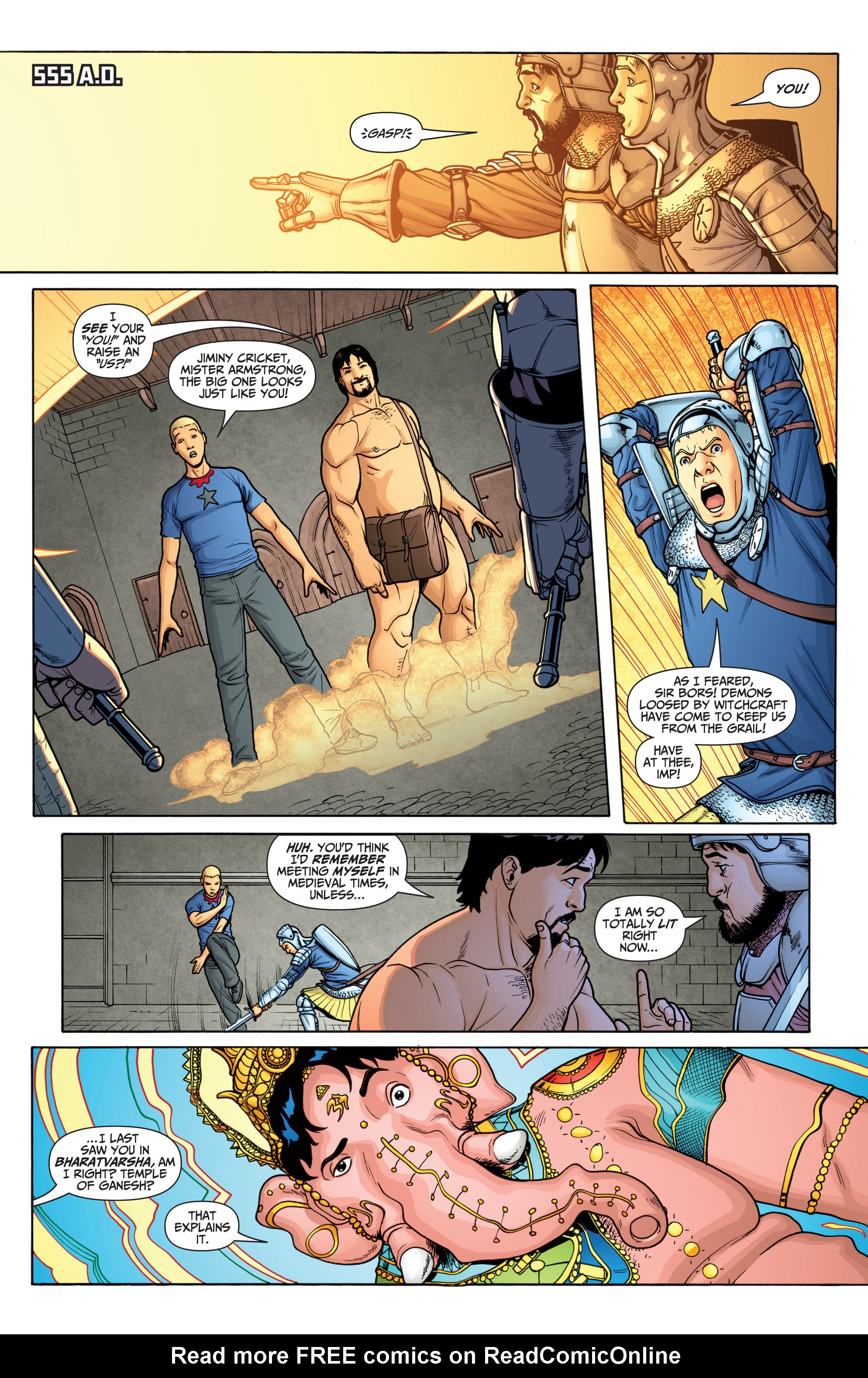 Read online Archer and Armstrong comic -  Issue #Archer and Armstrong _TPB 6 - 83
