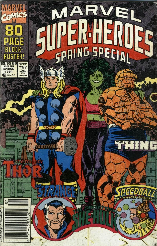 Marvel Super-Heroes (1990) 5 Page 1