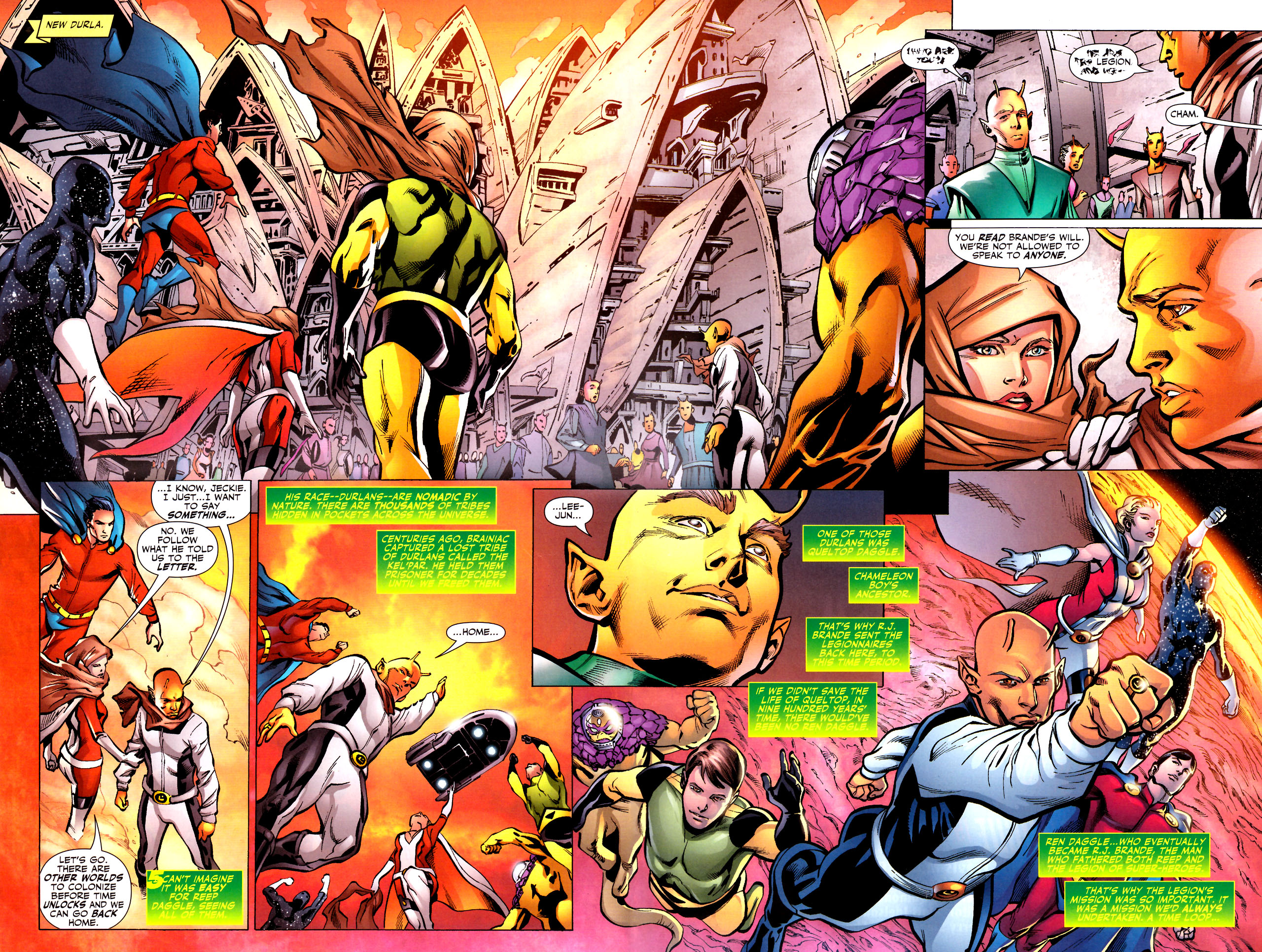 Read online Adventure Comics (2009) comic -  Issue #11 - 3