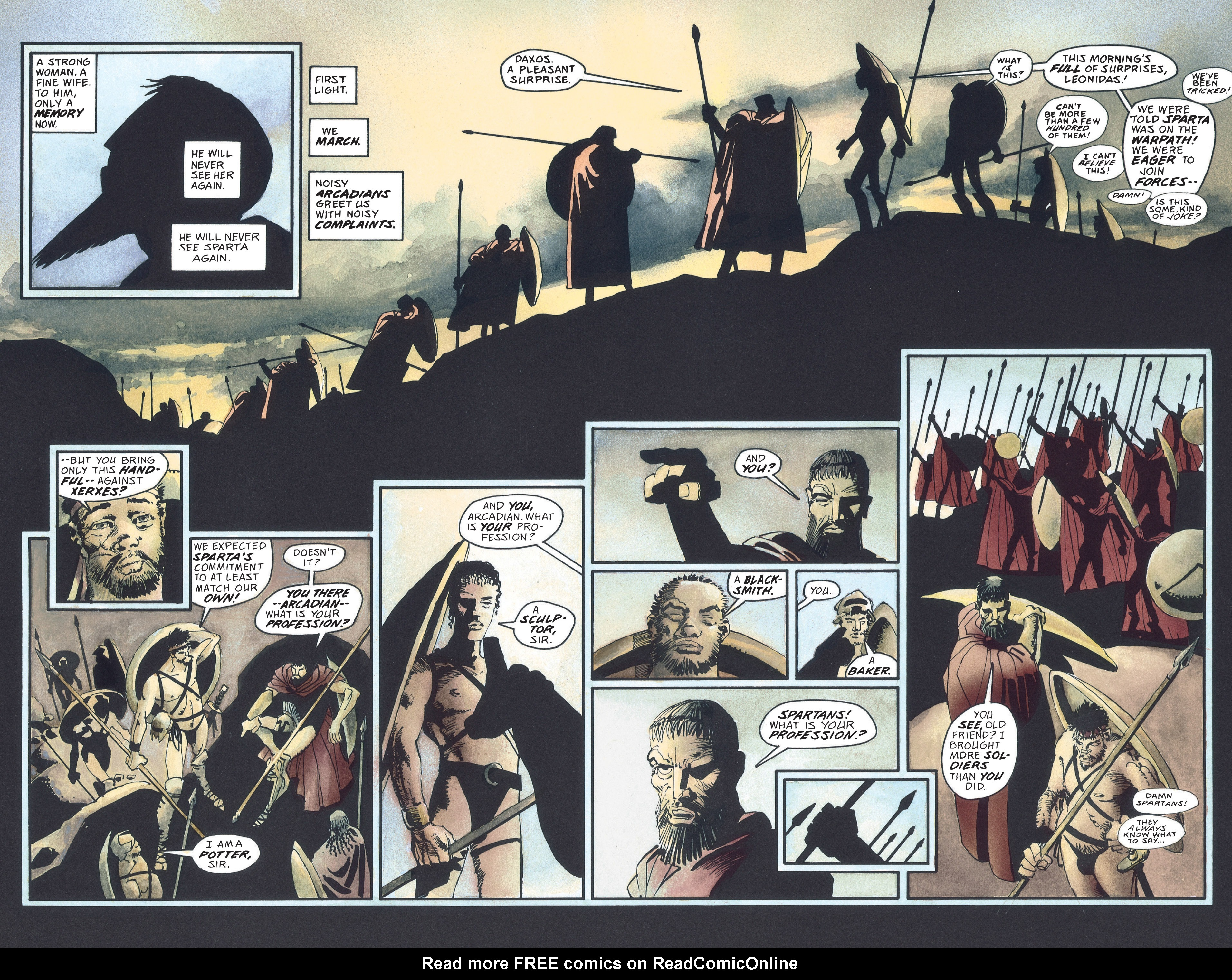 Read online 300 comic -  Issue #300 TPB - 28