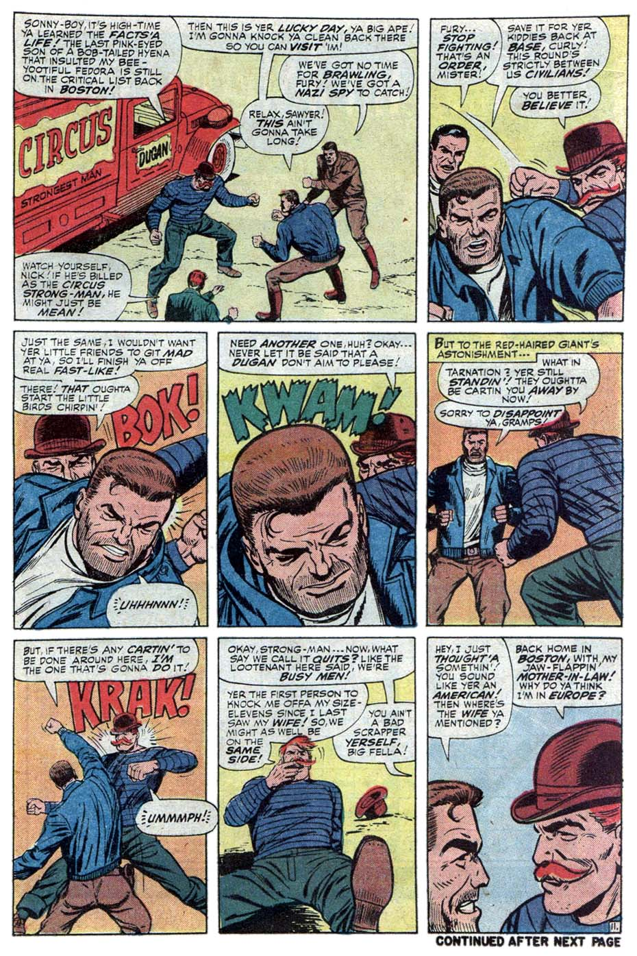 Read online Sgt. Fury comic -  Issue #101 - 17
