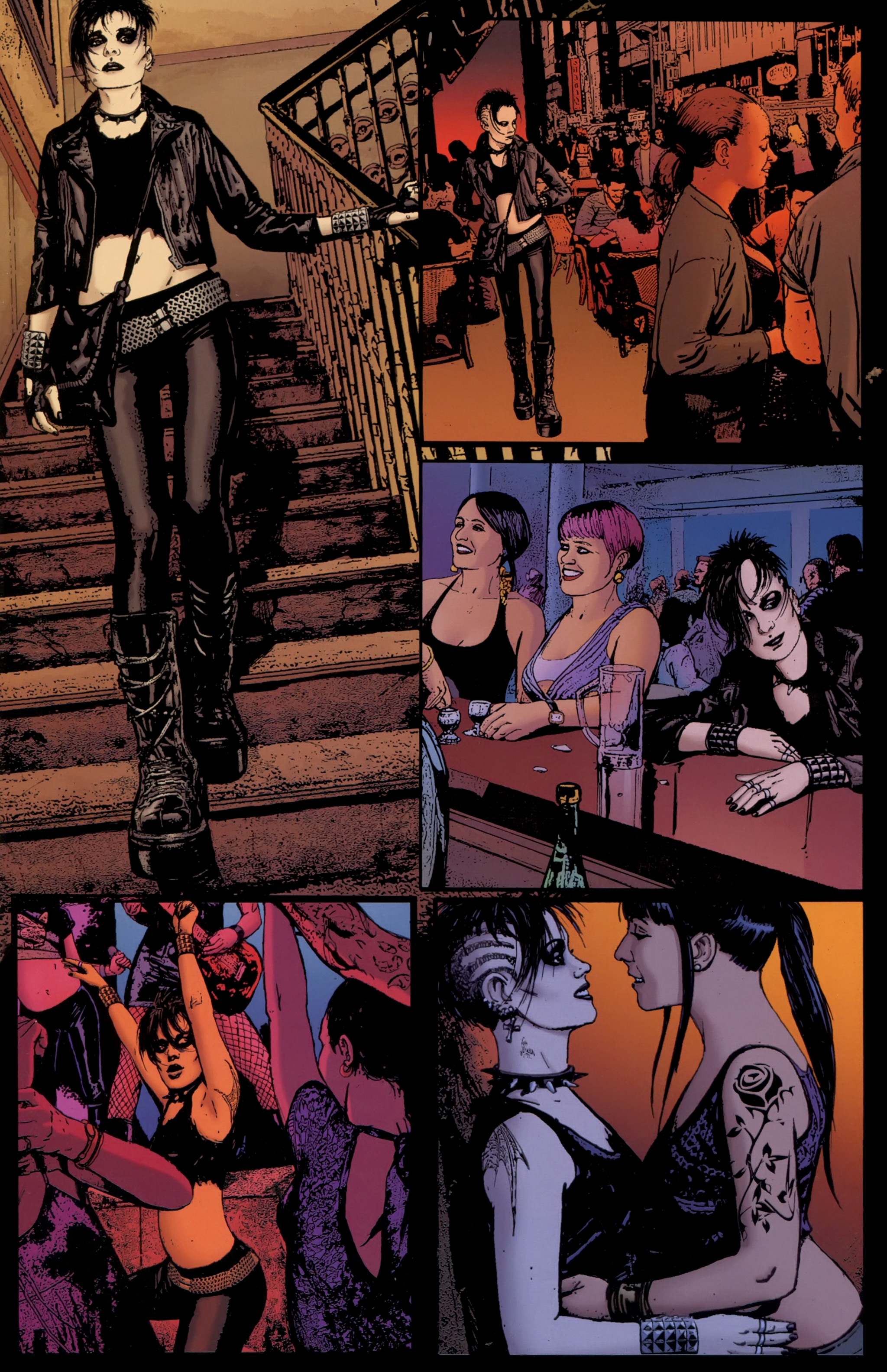 Read online The Girl With the Dragon Tattoo comic -  Issue # TPB 1 - 68
