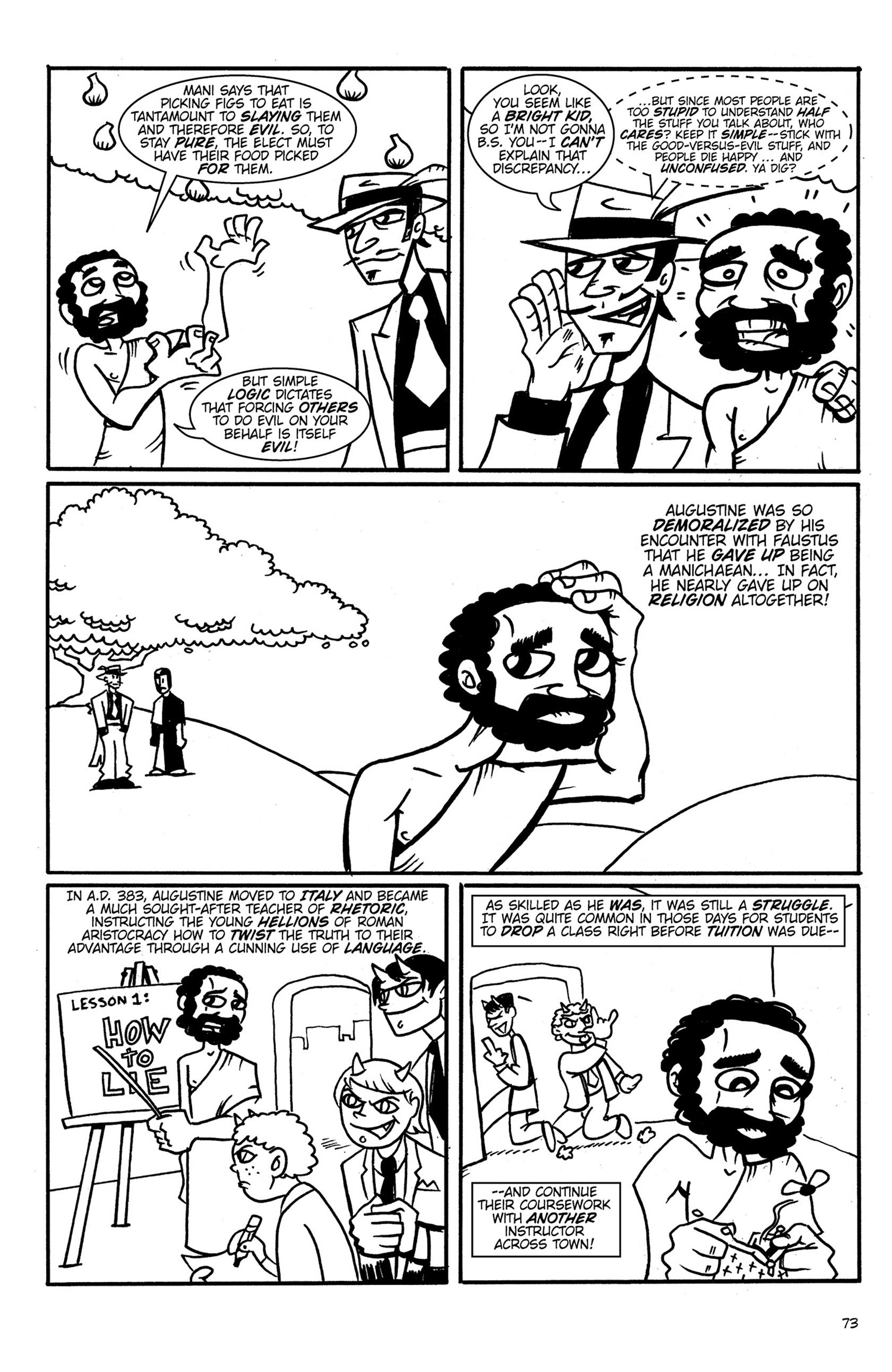 Read online Action Philosophers! comic -  Issue #Action Philosophers! TPB (Part 1) - 73