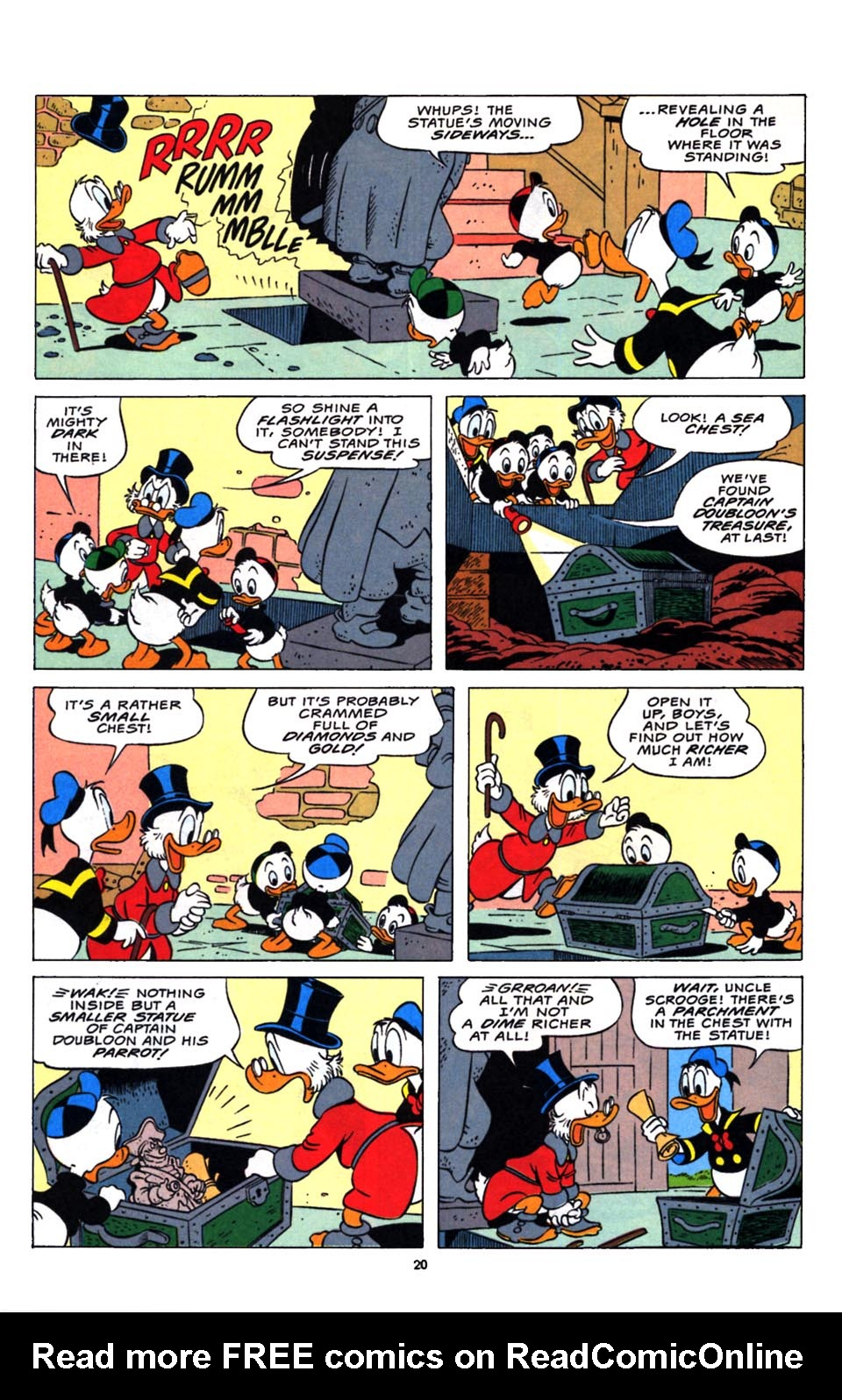 Read online Uncle Scrooge (1953) comic -  Issue #248 - 22