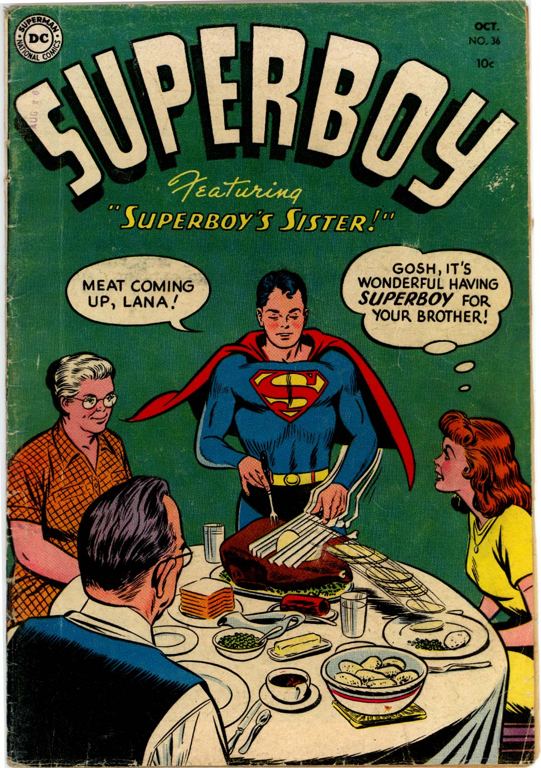 Superboy (1949) issue 36 - Page 1