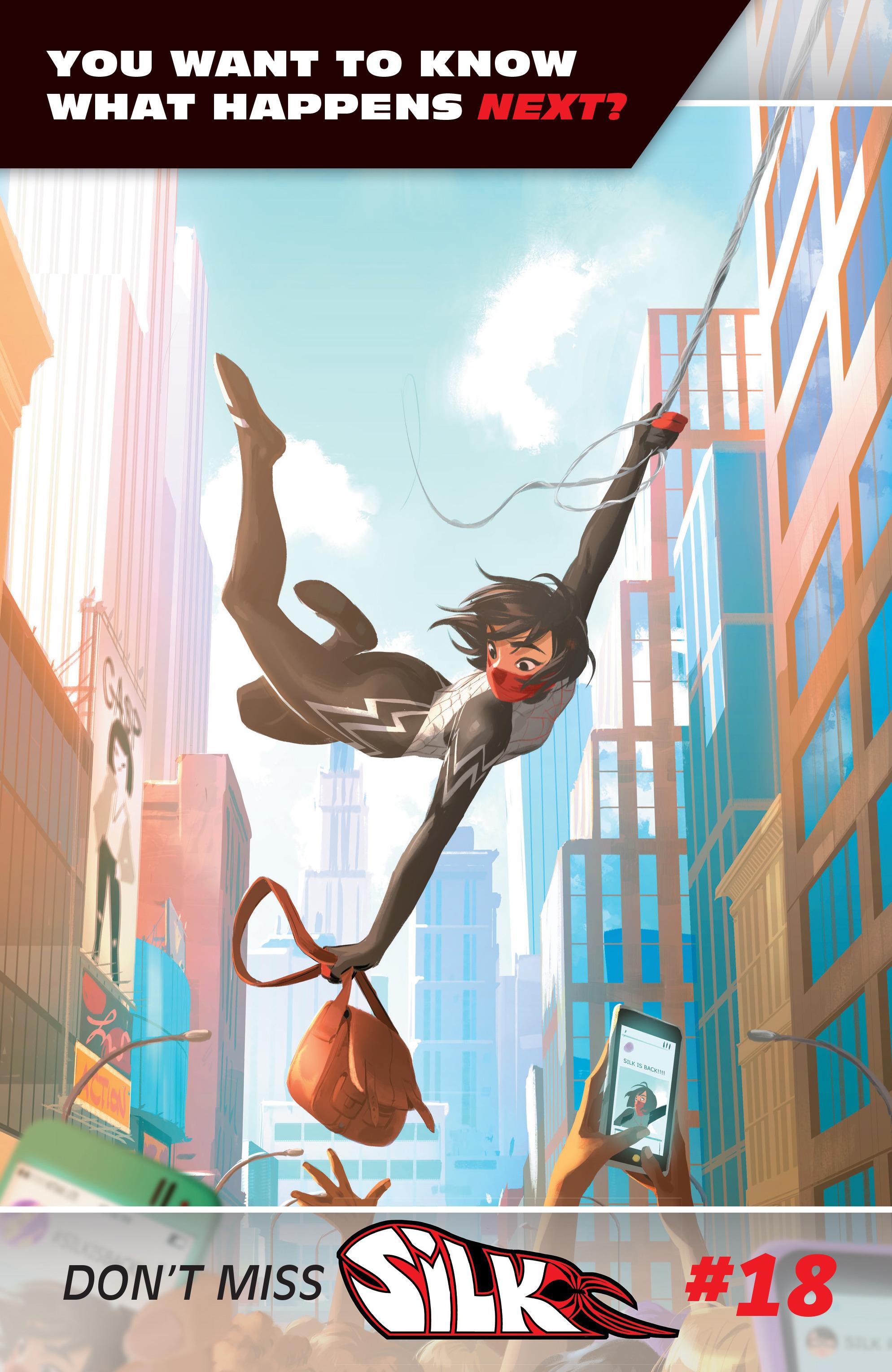Read online Silk (2016) comic -  Issue #17 - 20