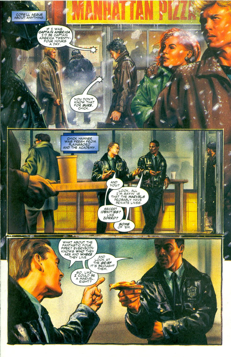 Read online Code of Honor comic -  Issue #3 - 4