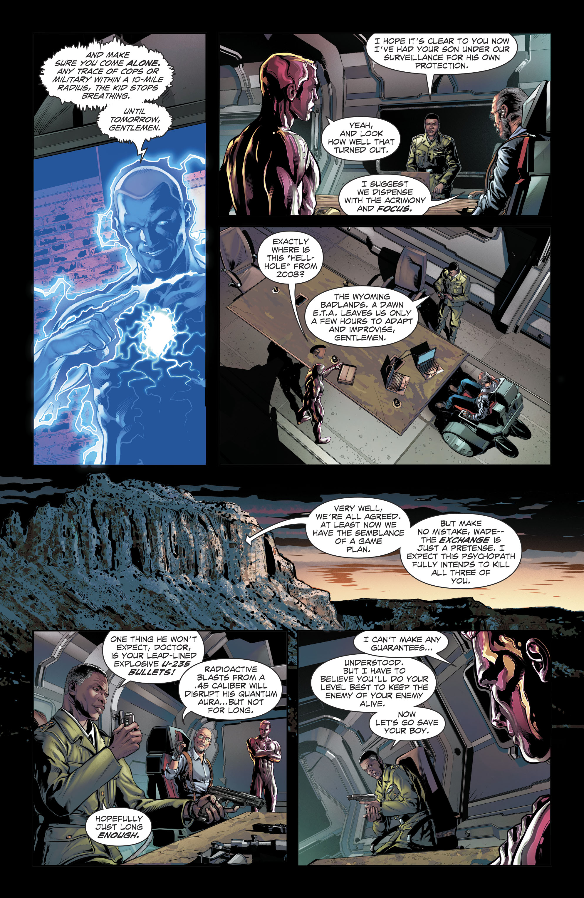 Read online The Fall and Rise of Captain Atom comic -  Issue #6 - 10