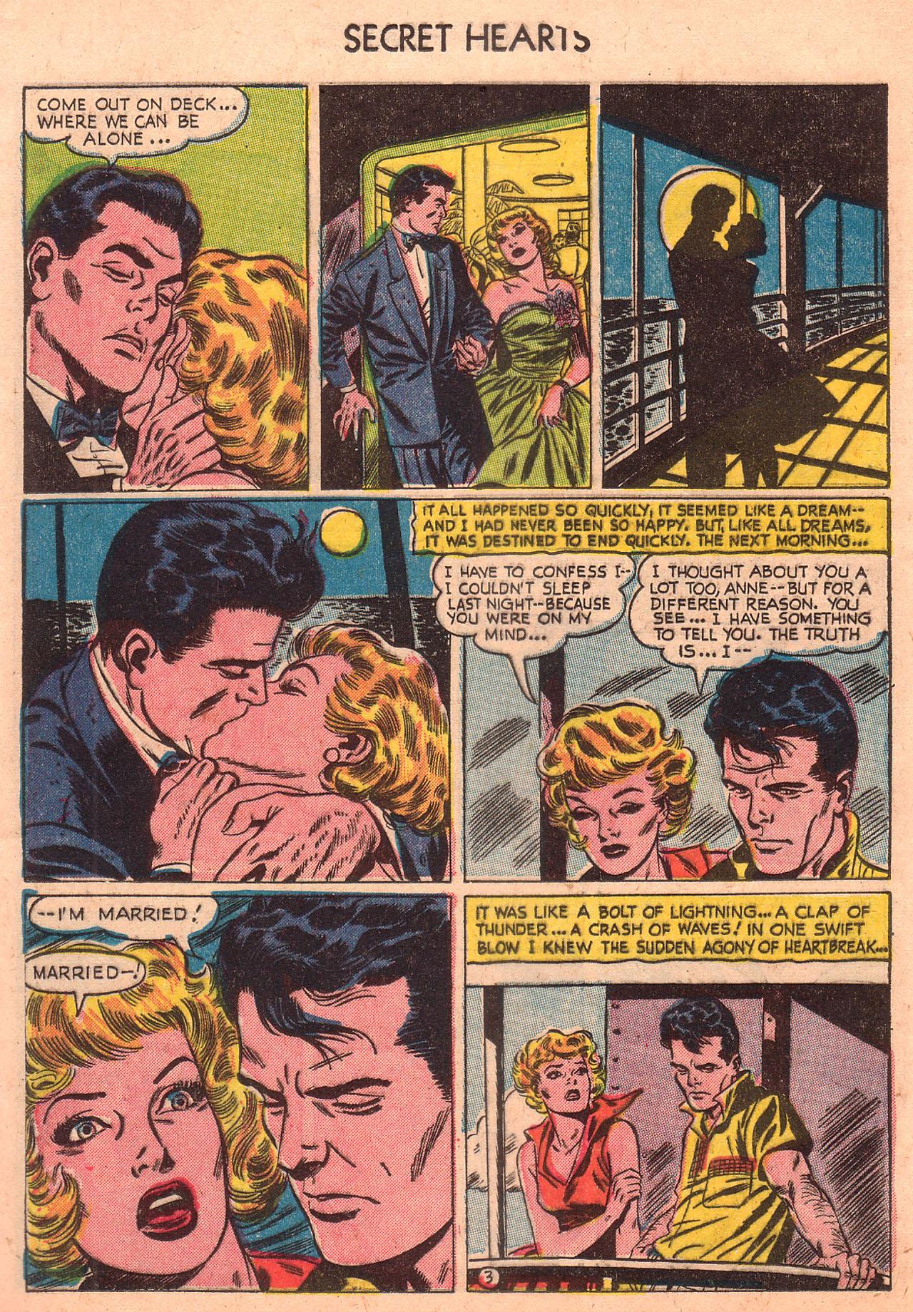 Read online Secret Hearts comic -  Issue #23 - 12