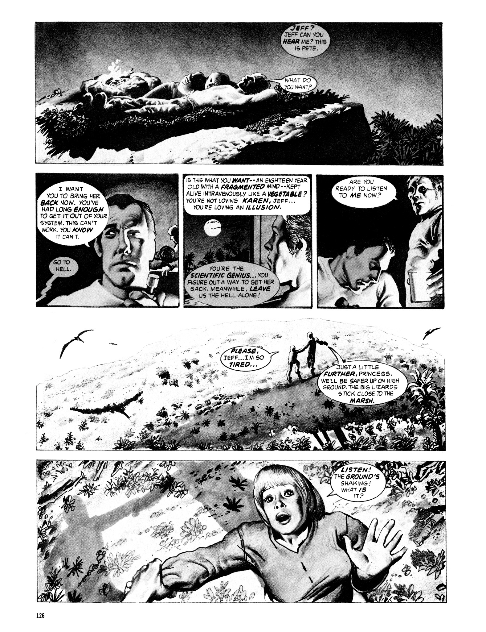 Read online Eerie Archives comic -  Issue # TPB 16 - 127