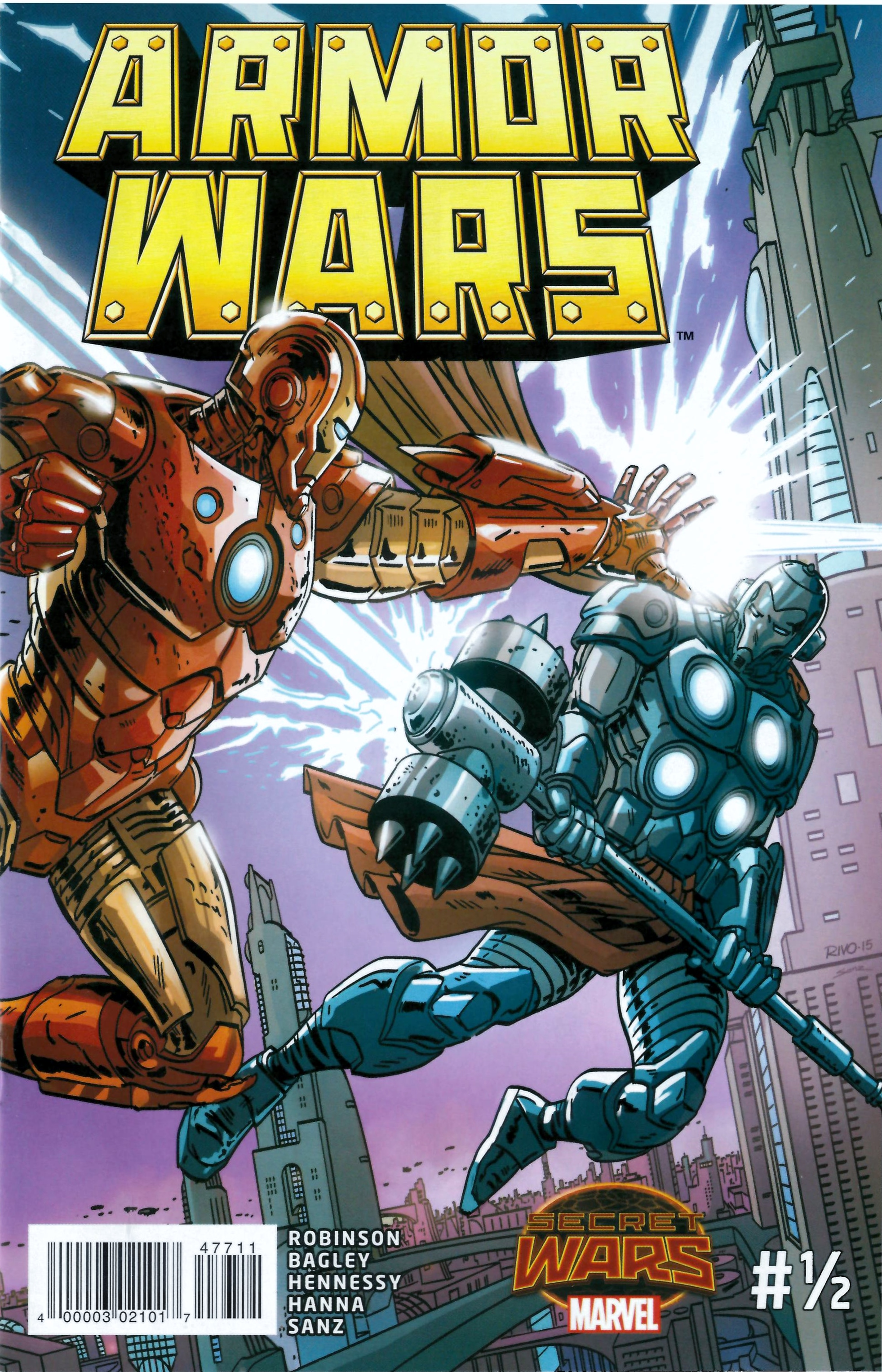 Read online Armor Wars comic -  Issue #0.5 - 1