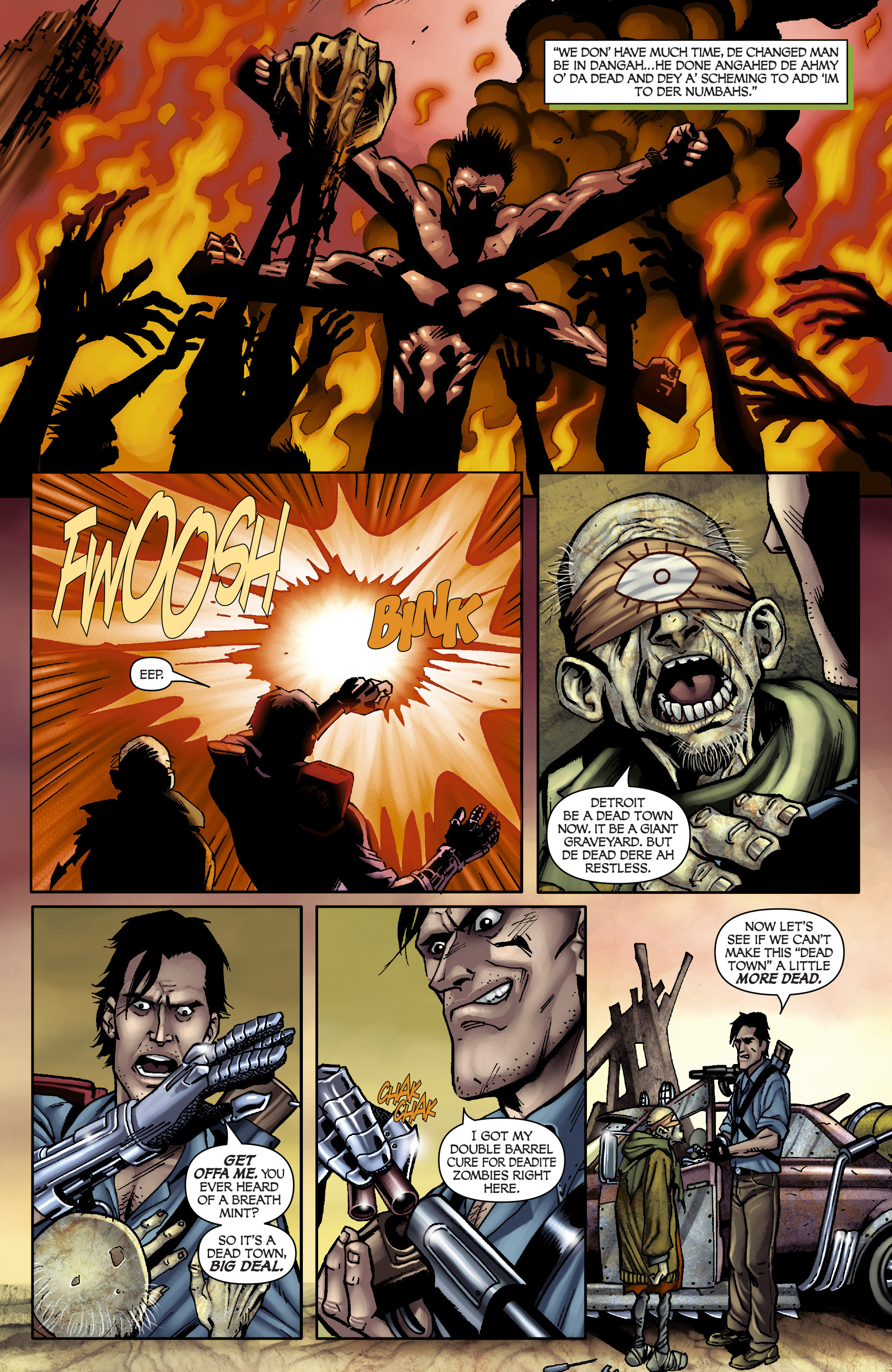 Read online Army of Darkness: From the Ashes comic -  Issue #Army of Darkness: From the Ashes TPB - 34