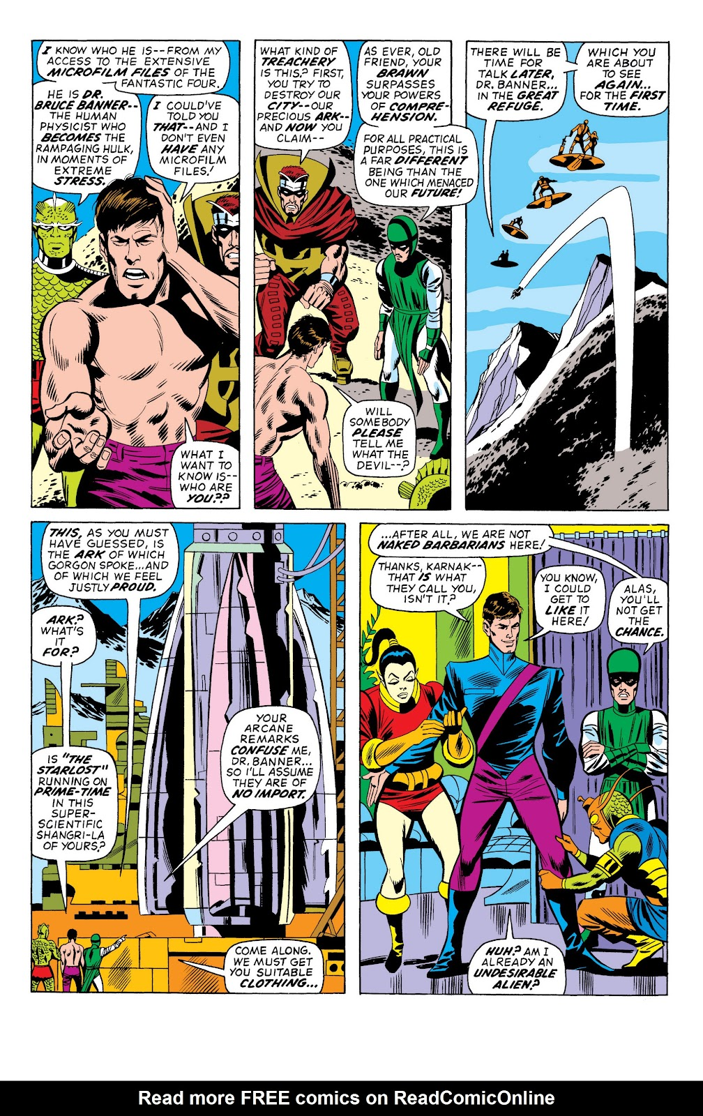 Read online Marvel Masterworks: The Incredible Hulk comic -  Issue # TPB 10 (Part 1) - 95