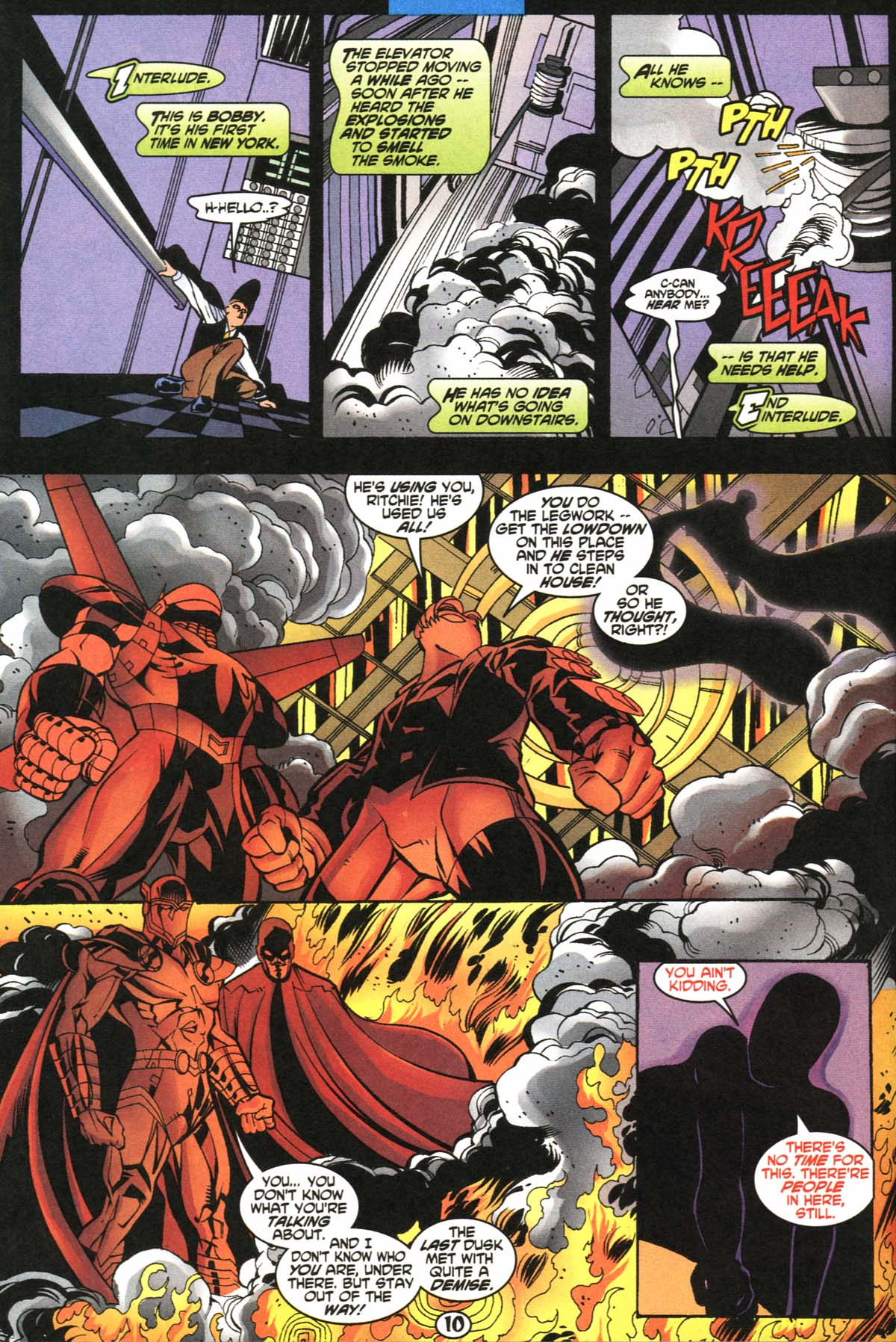 Read online Slingers comic -  Issue #5 - 11