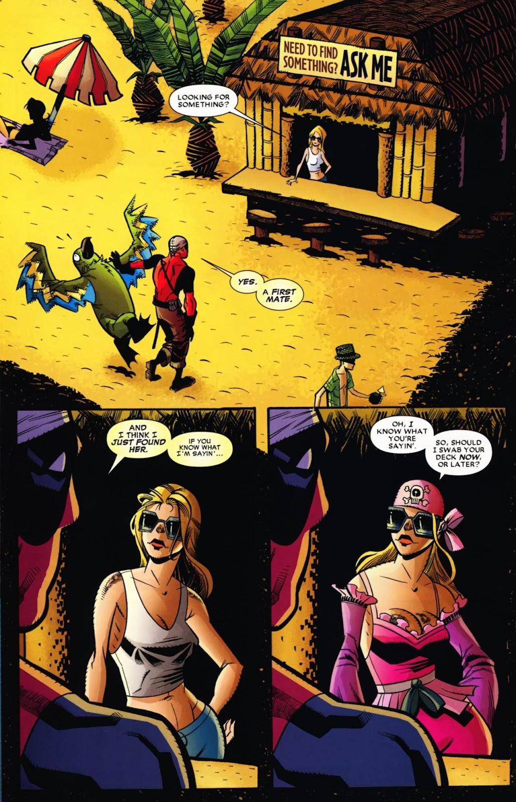 Read online Deadpool (2008) comic -  Issue #13 - 19