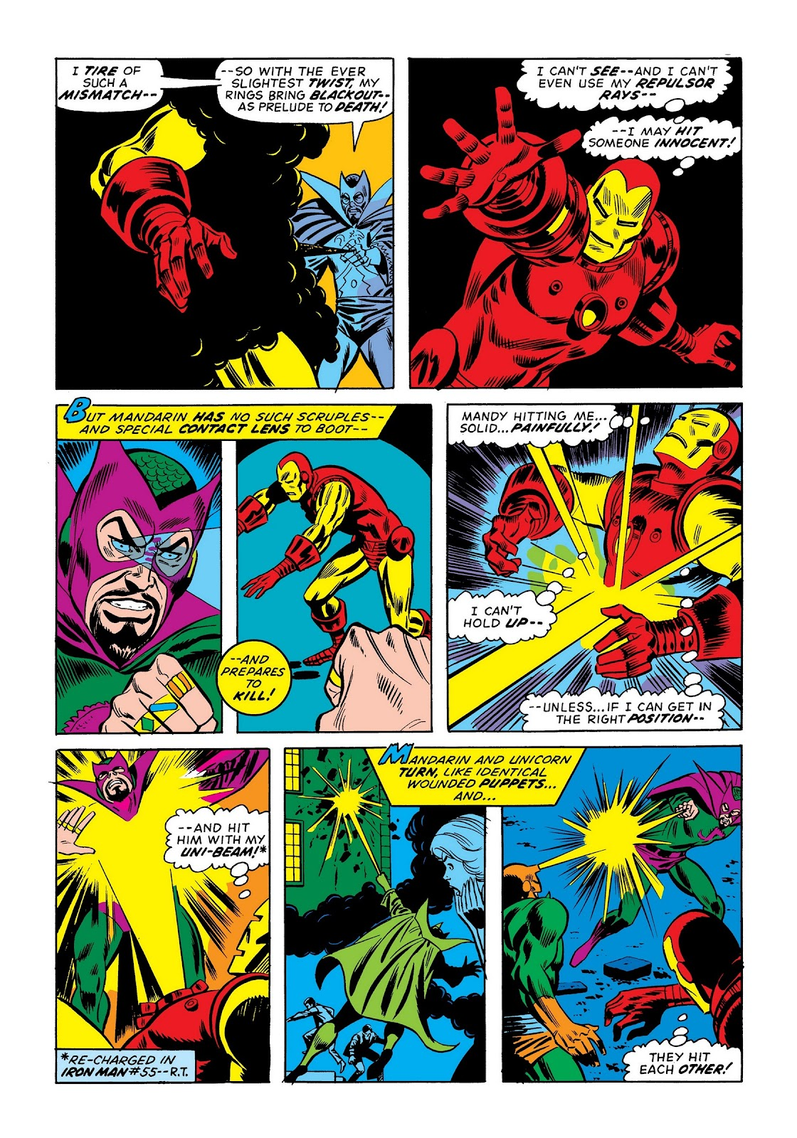 Read online Marvel Masterworks: The Invincible Iron Man comic -  Issue # TPB 9 (Part 2) - 8