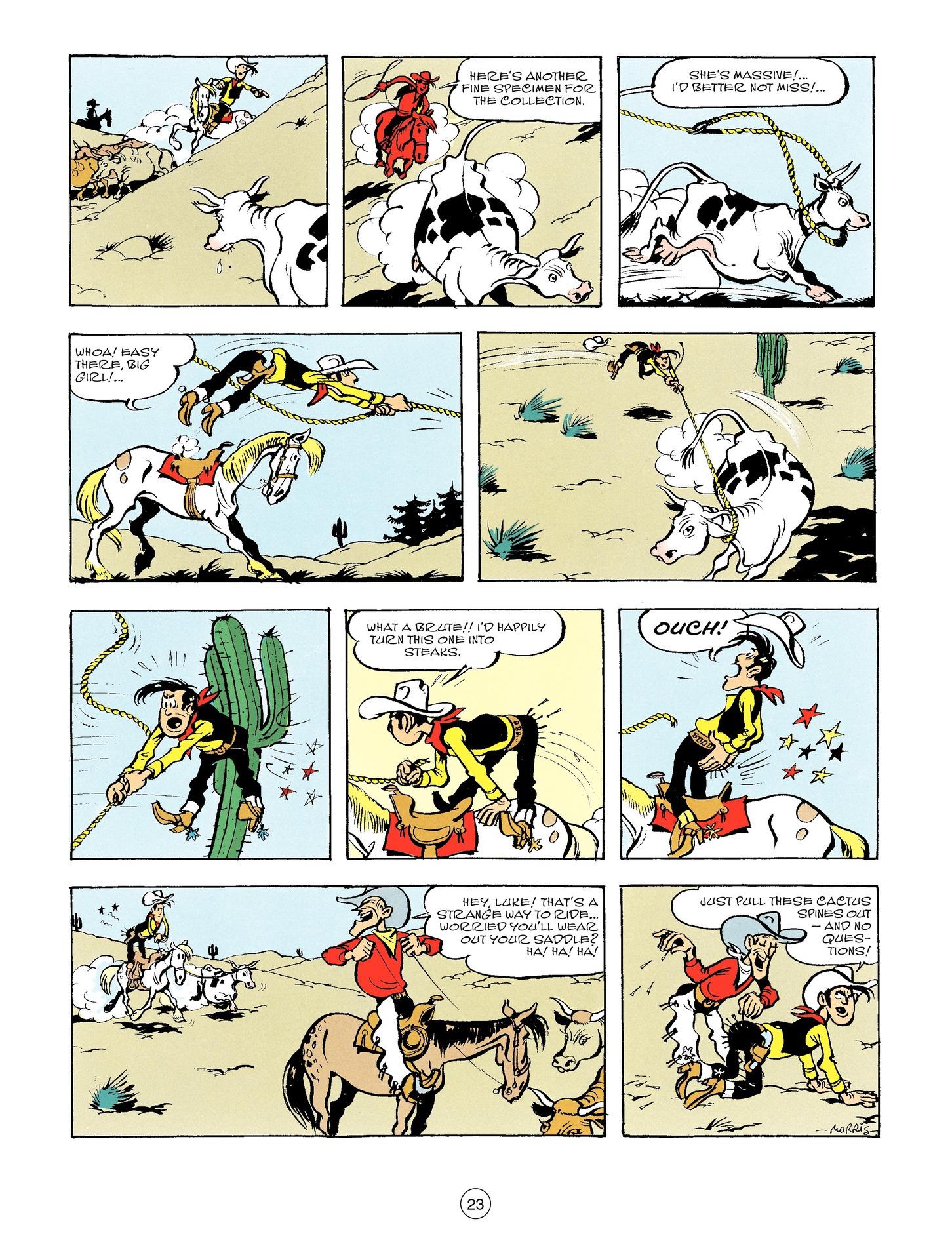 Read online A Lucky Luke Adventure comic -  Issue #56 - 23