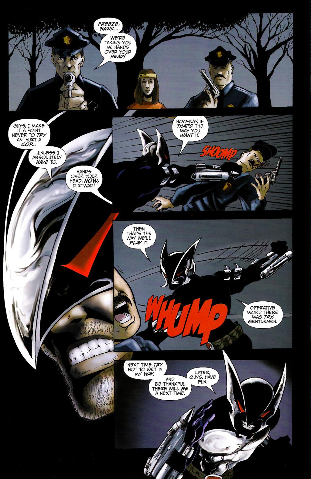 Read online ShadowHawk (2005) comic -  Issue #10 - 12