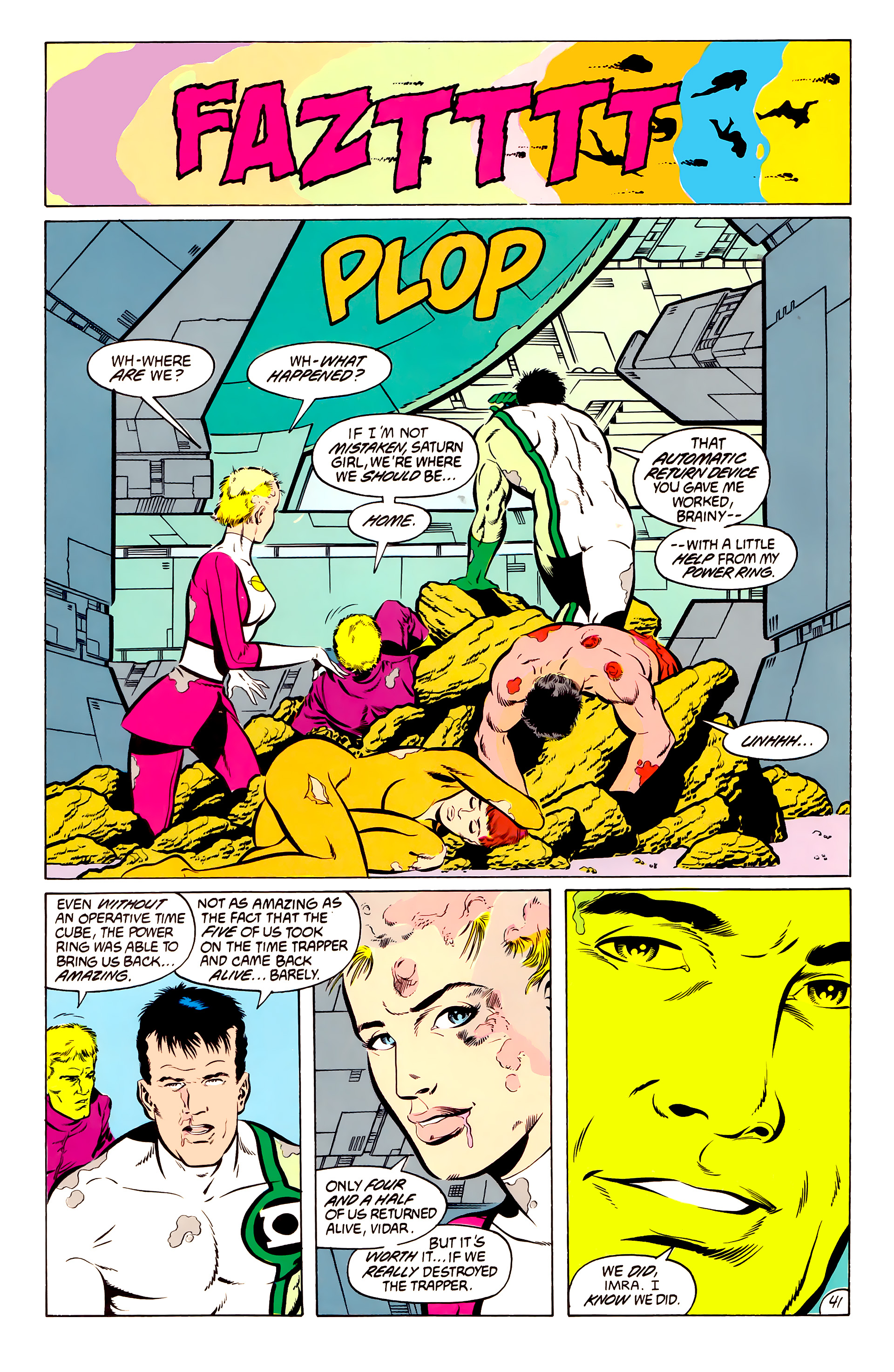 Legion of Super-Heroes (1984) 50 Page 40
