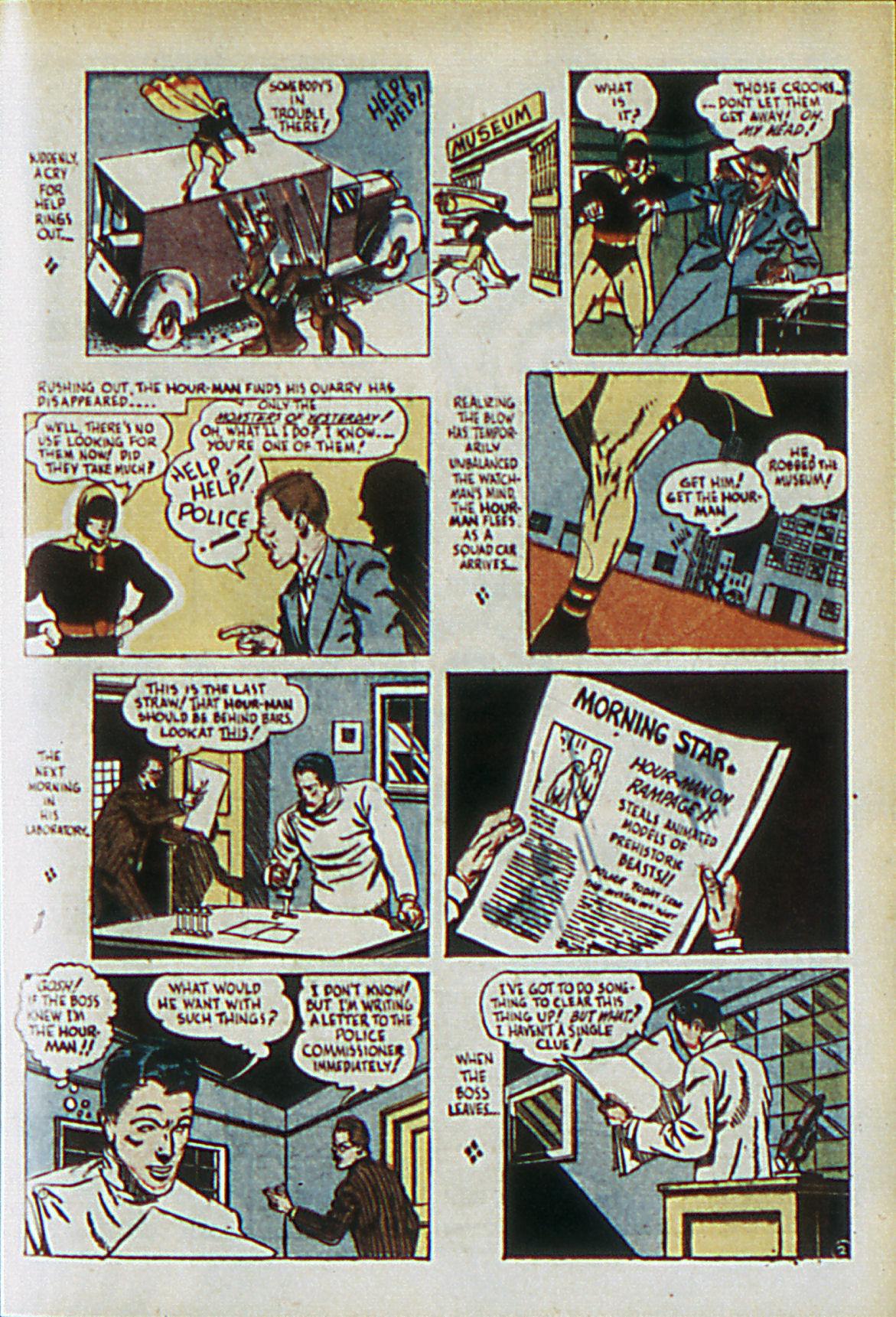 Read online Adventure Comics (1938) comic -  Issue #61 - 34