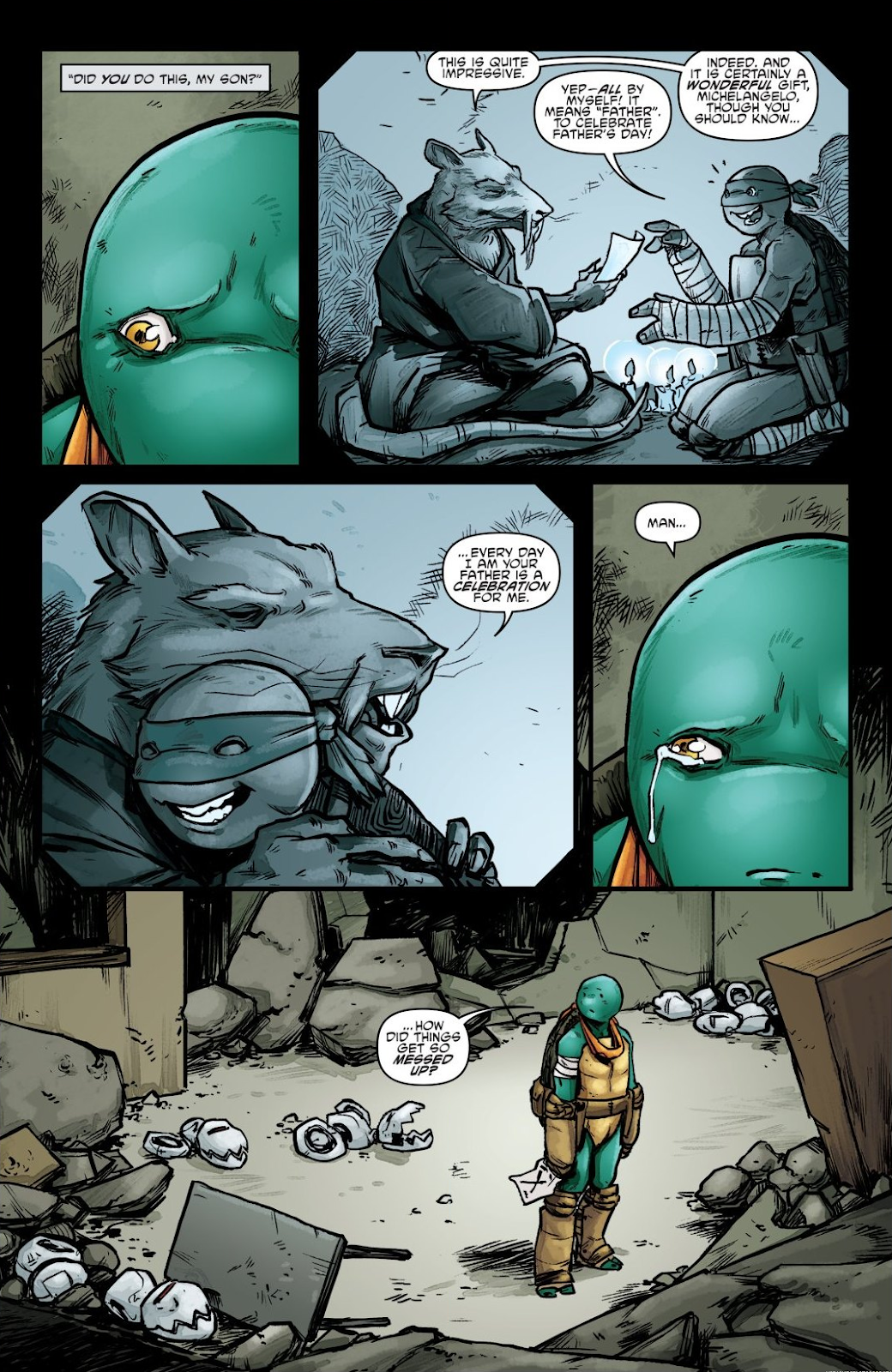 Read online Teenage Mutant Ninja Turtles: The IDW Collection comic -  Issue # TPB 7 (Part 2) - 2