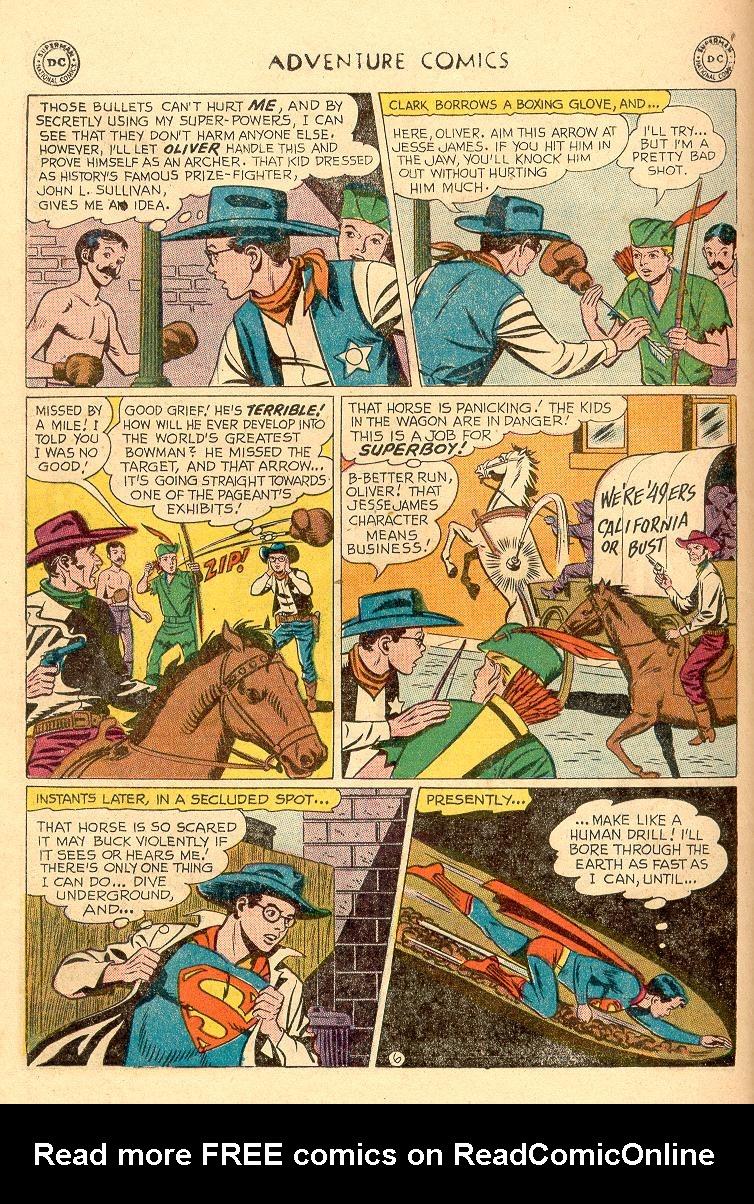 Read online Adventure Comics (1938) comic -  Issue #258 - 8