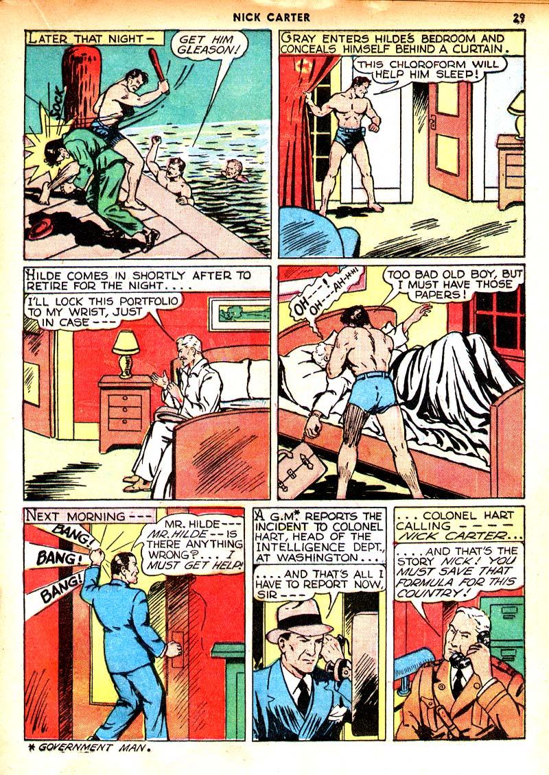 Read online Shadow Comics comic -  Issue #7 - 22