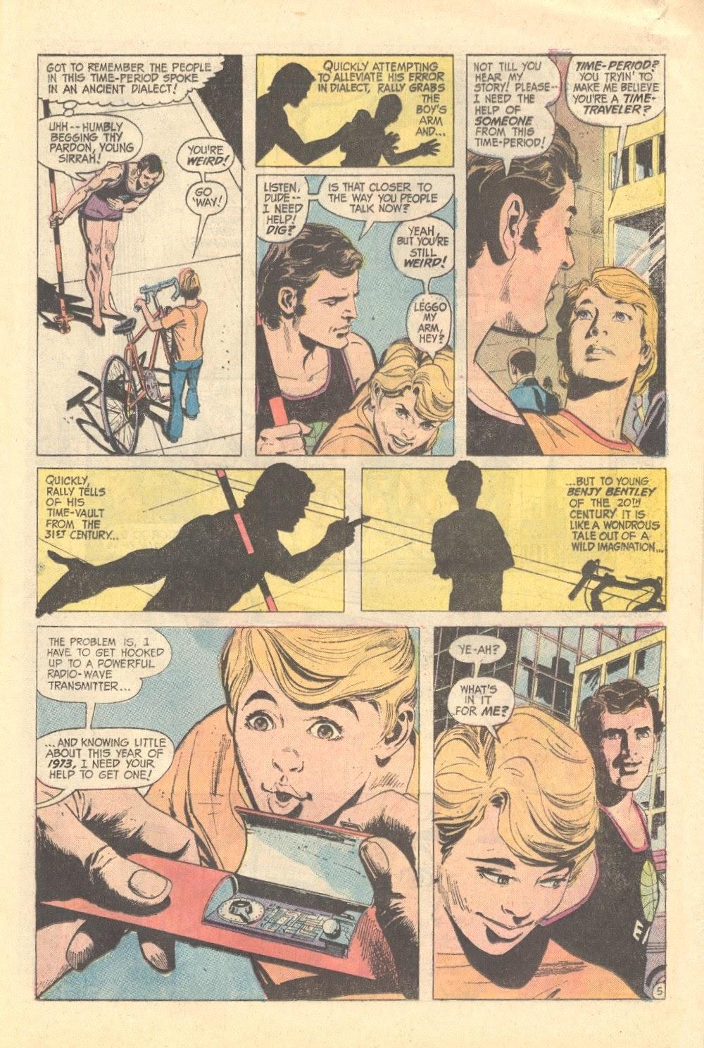 Read online Strange Sports Stories (1973) comic -  Issue #3 - 16