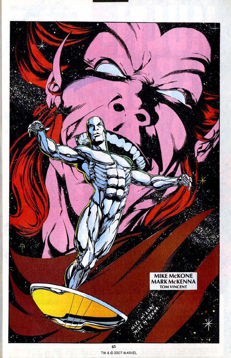 Read online Silver Surfer (1987) comic -  Issue # _Annual 7 - 65