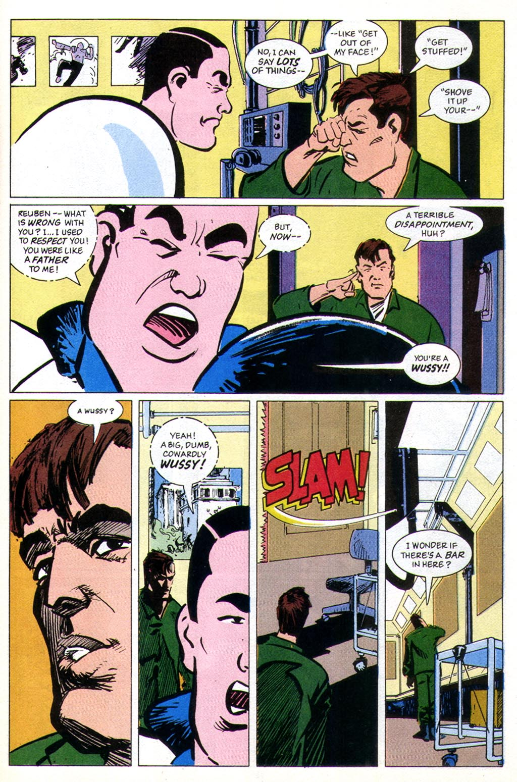 Read online American Flagg! comic -  Issue #43 - 27