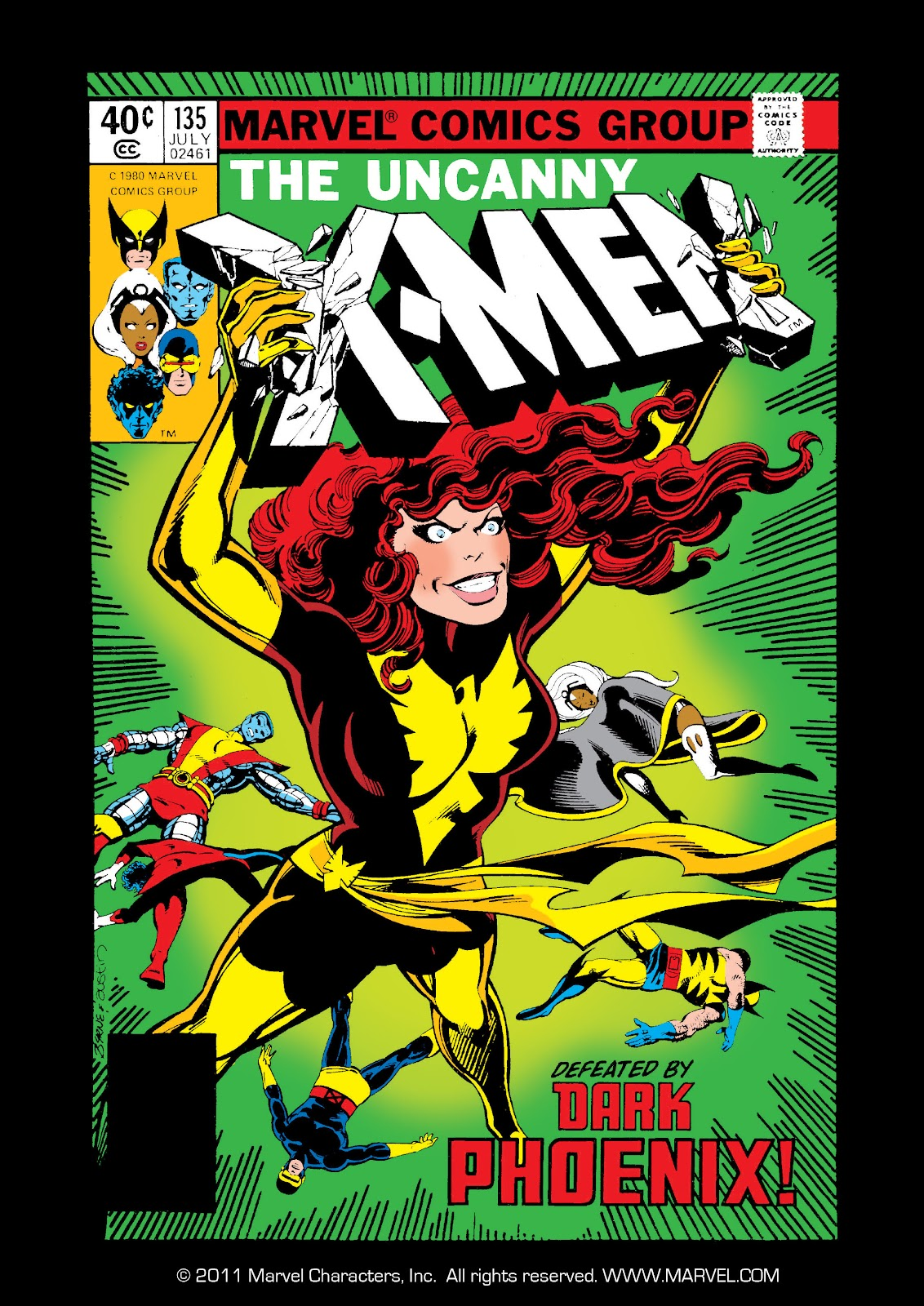 Uncanny X-Men (1963) 135 Page 1