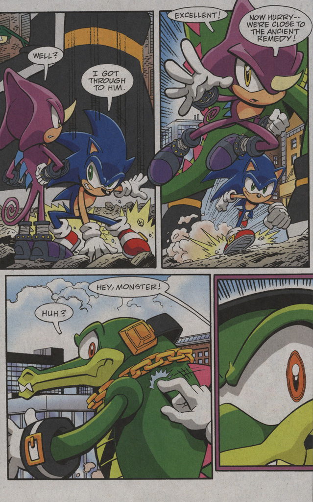 Read online Sonic X comic -  Issue #39 - 16