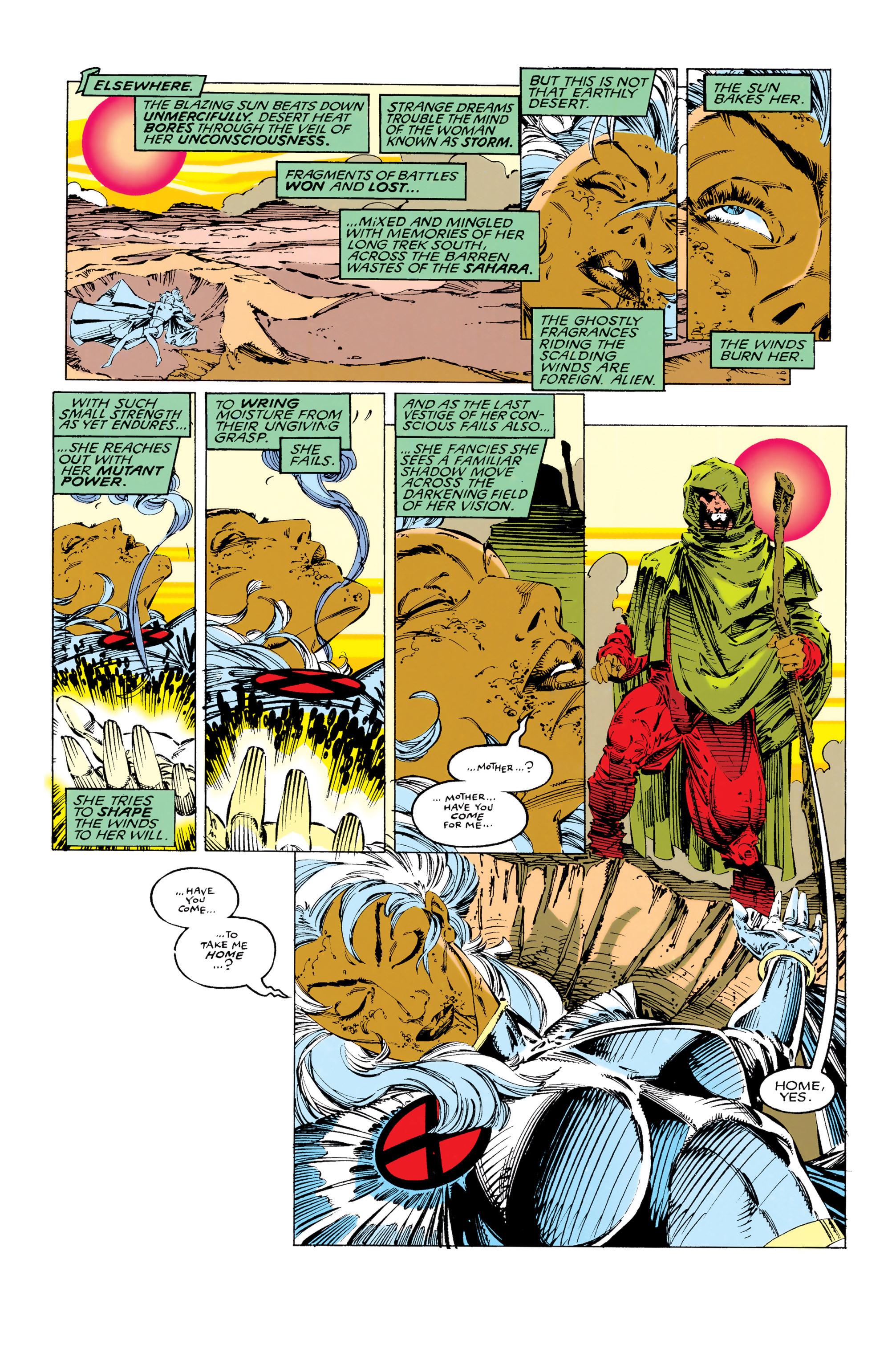 Read online Uncanny X-Men (1963) comic -  Issue #285 - 6