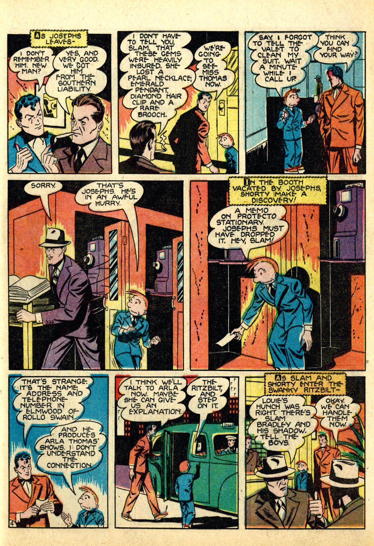 Read online Detective Comics (1937) comic -  Issue #50 - 61