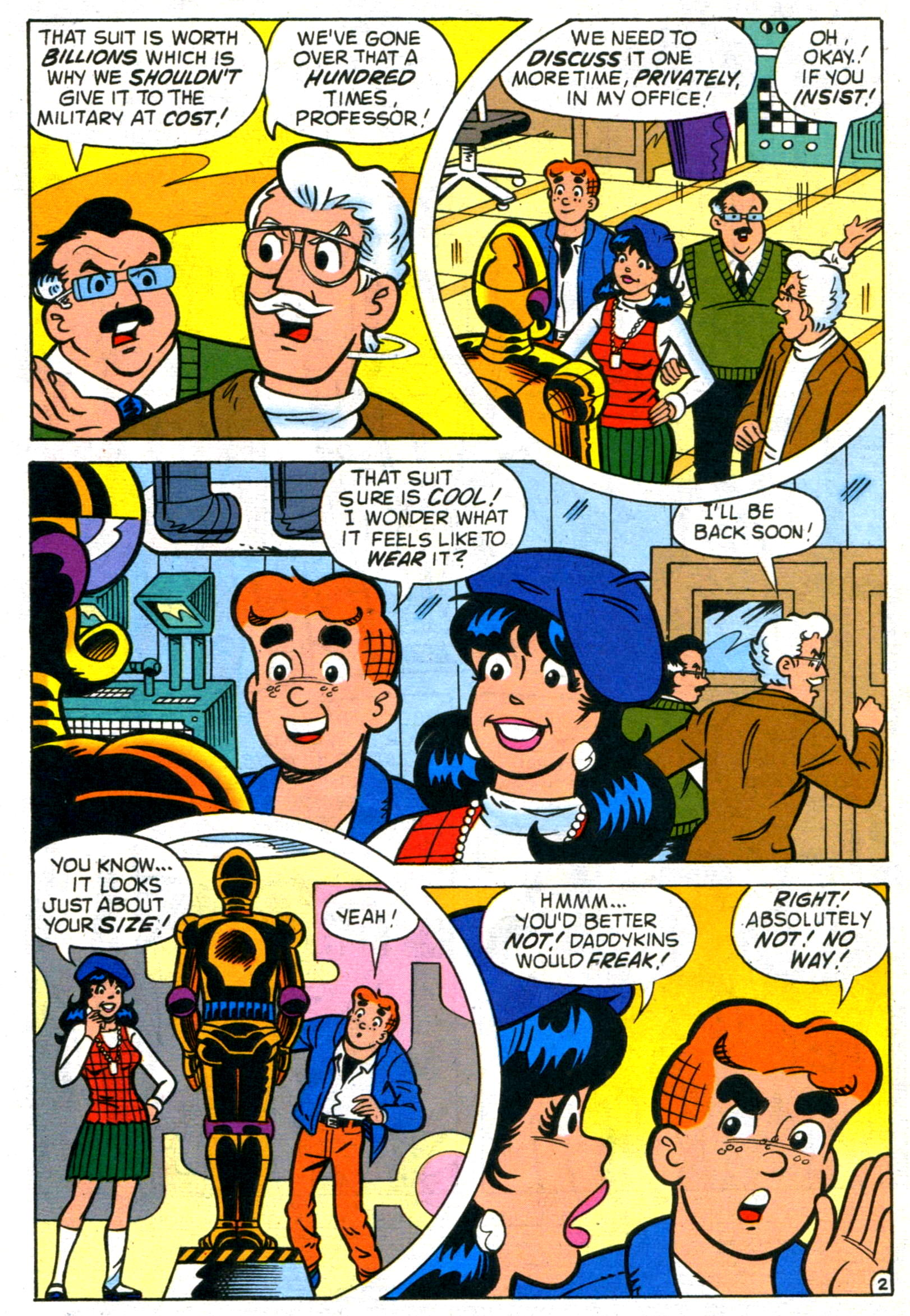 Read online World of Archie comic -  Issue #17 - 4