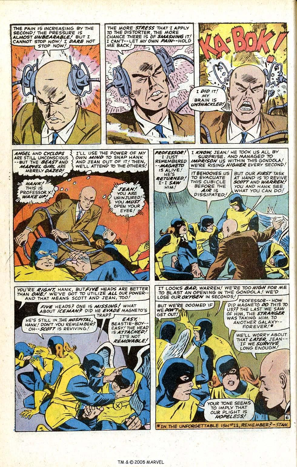 Uncanny X-Men (1963) issue 70 - Page 32