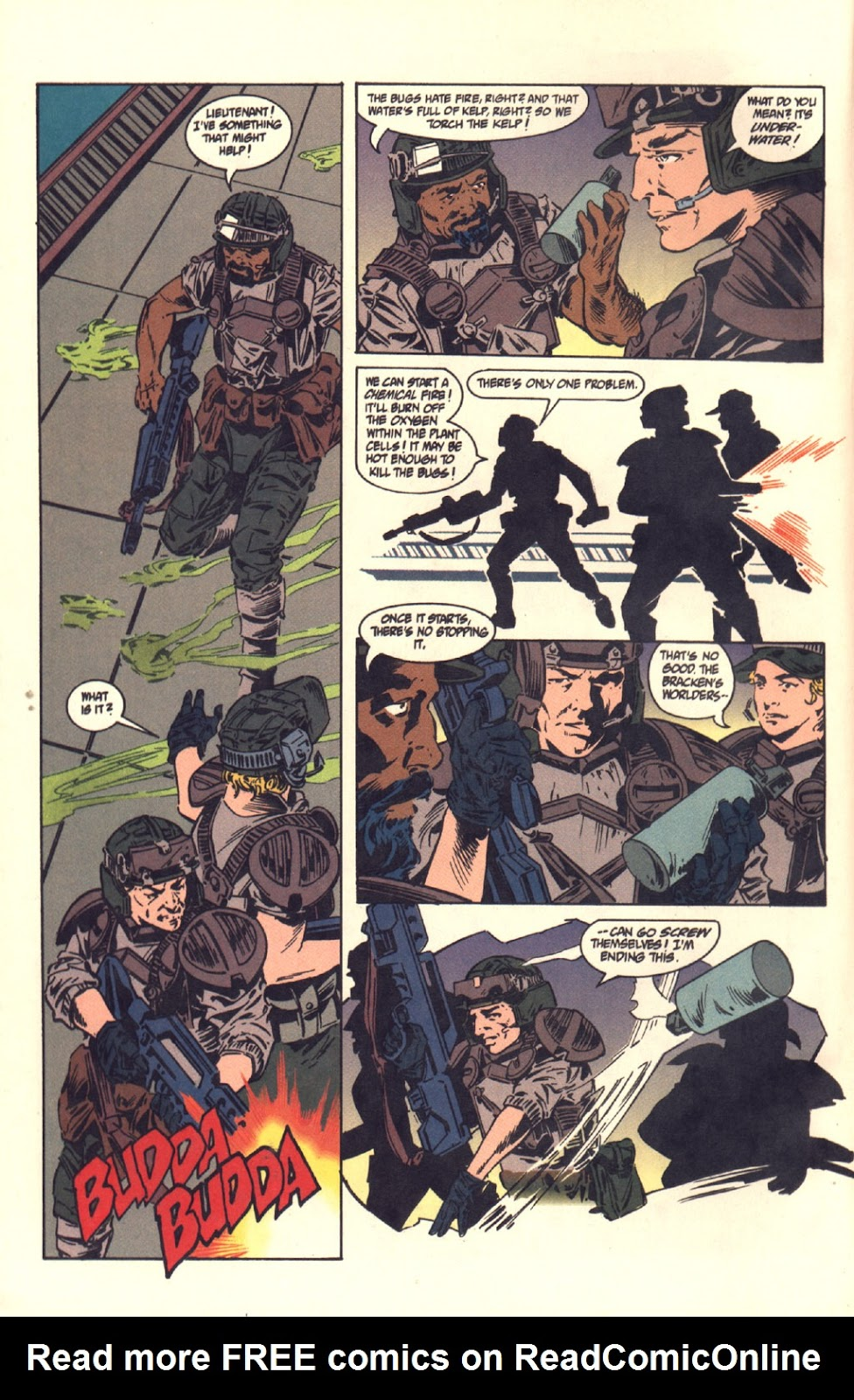 Read online Aliens: Colonial Marines comic -  Issue #6 - 11