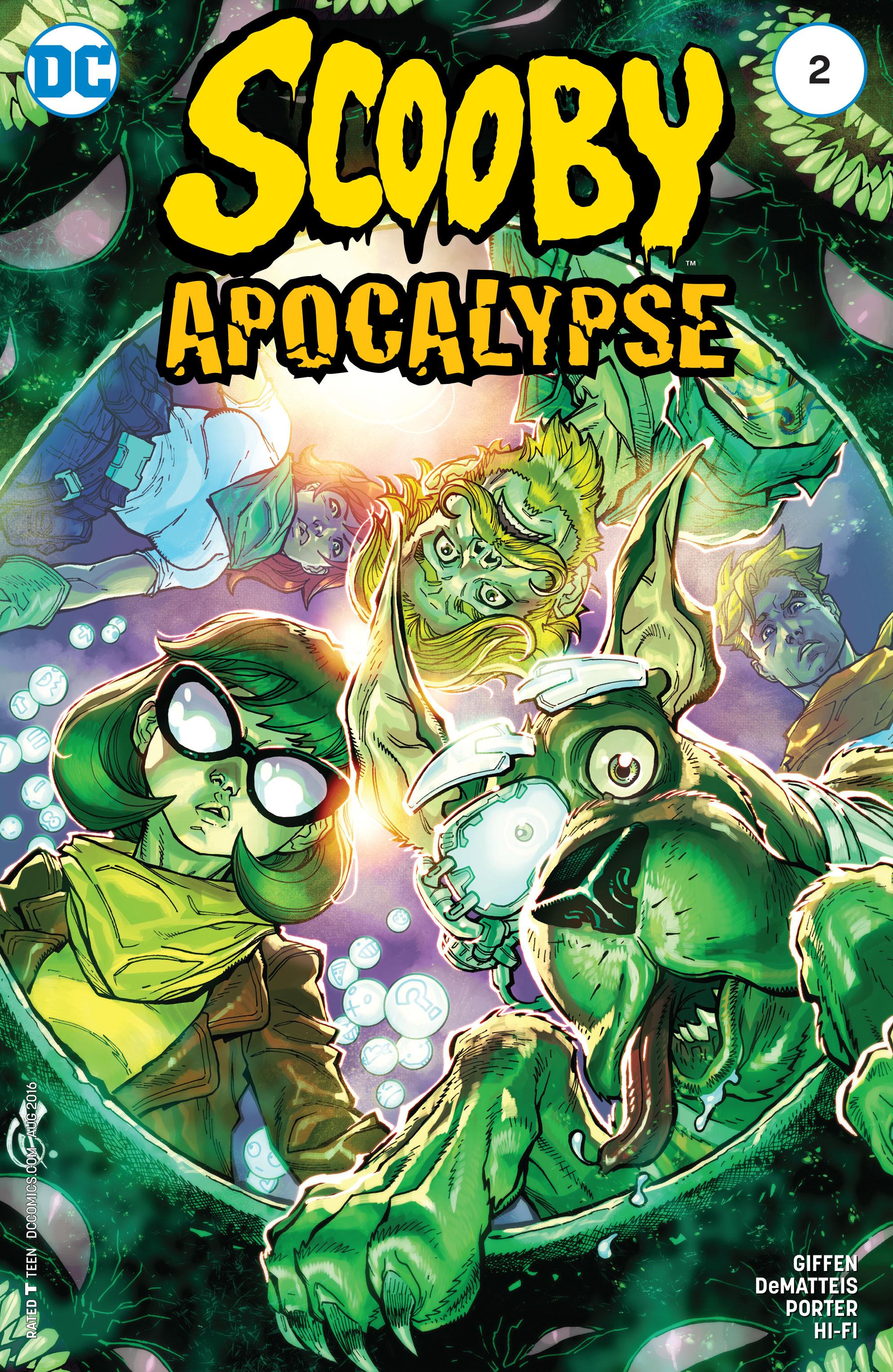 Read online Scooby Apocalypse comic -  Issue #2 - 3