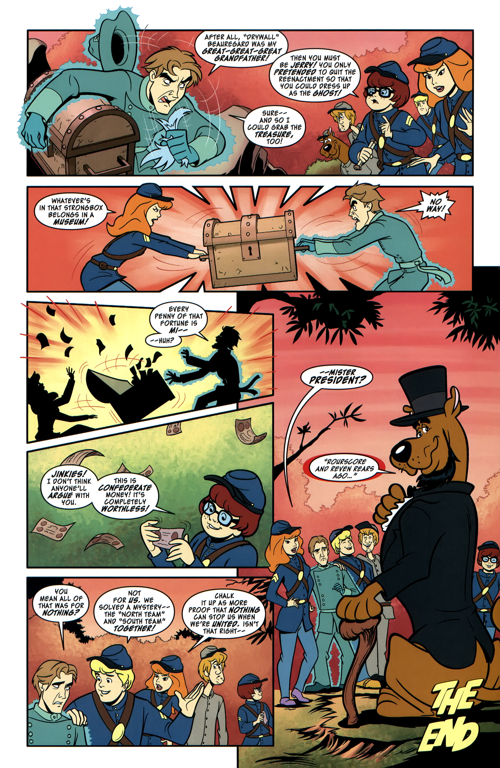 Read online Scooby-Doo: Where Are You? comic -  Issue #35 - 12