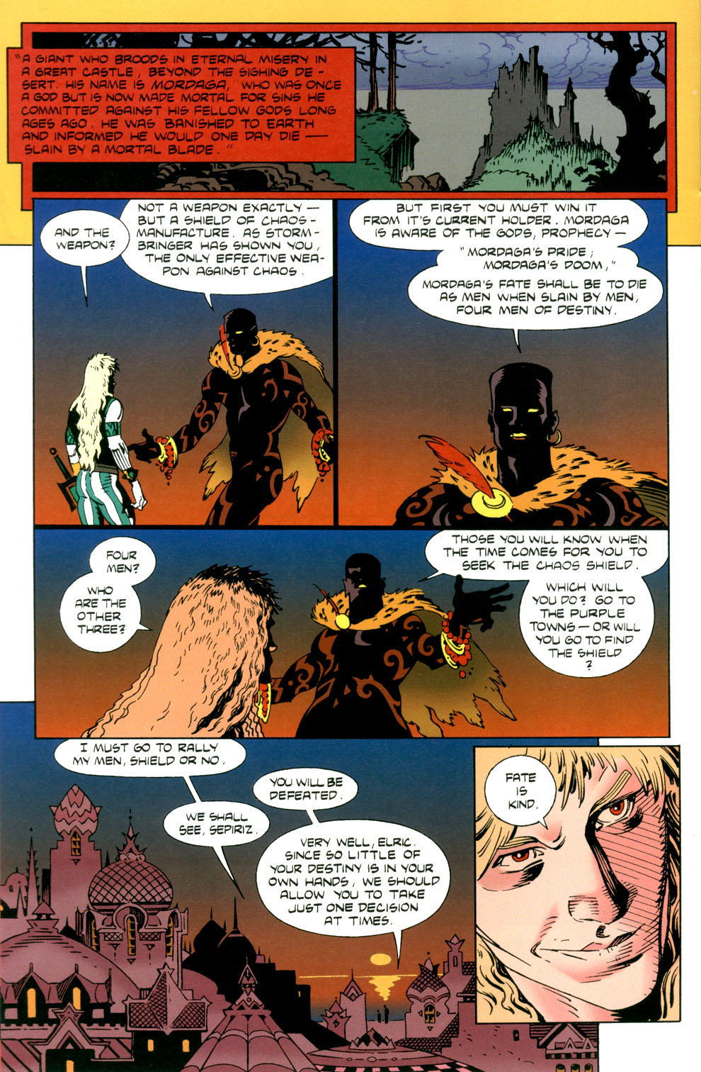 Read online Elric: Stormbringer comic -  Issue #4 - 14