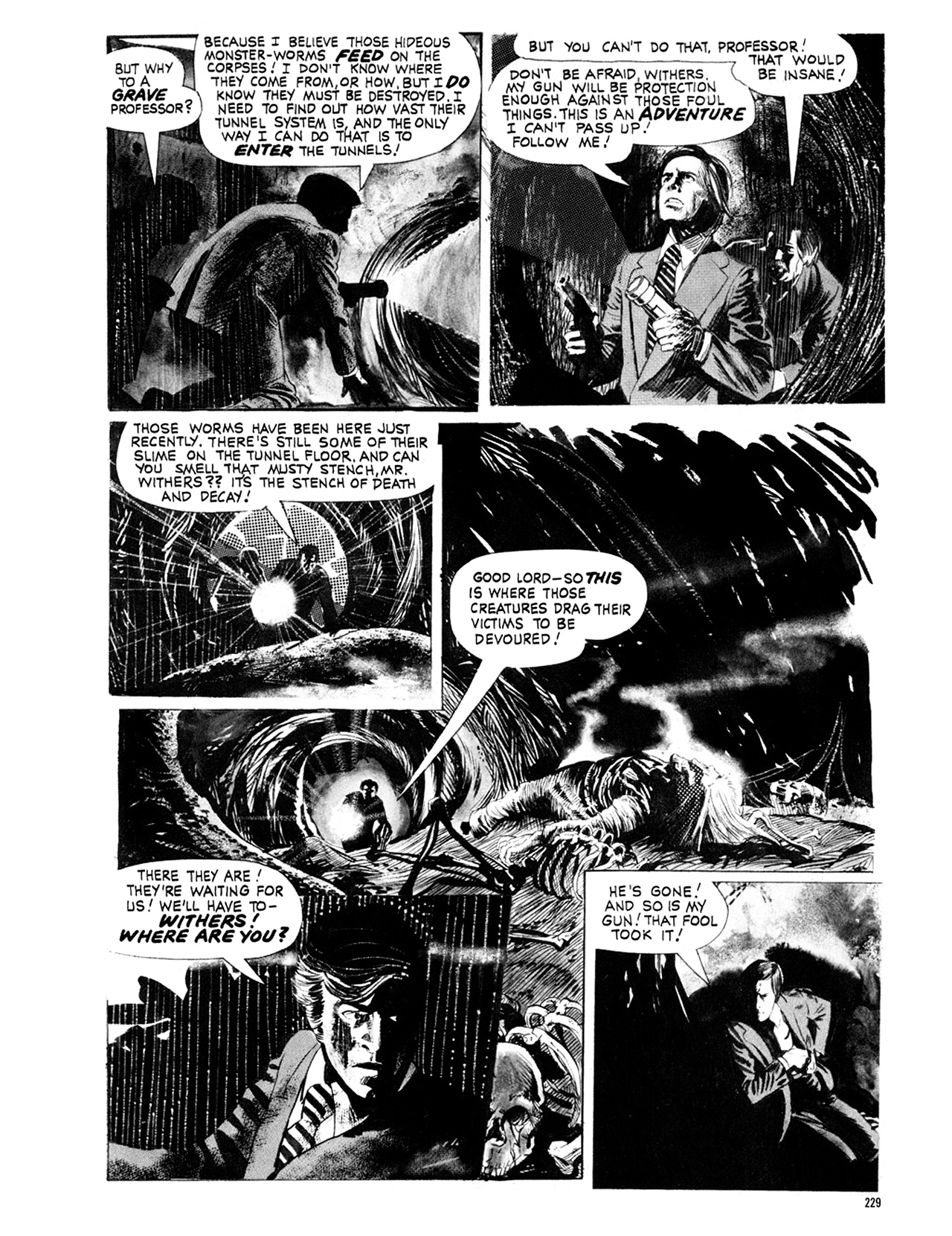 Read online Eerie Archives comic -  Issue # TPB 9 - 230