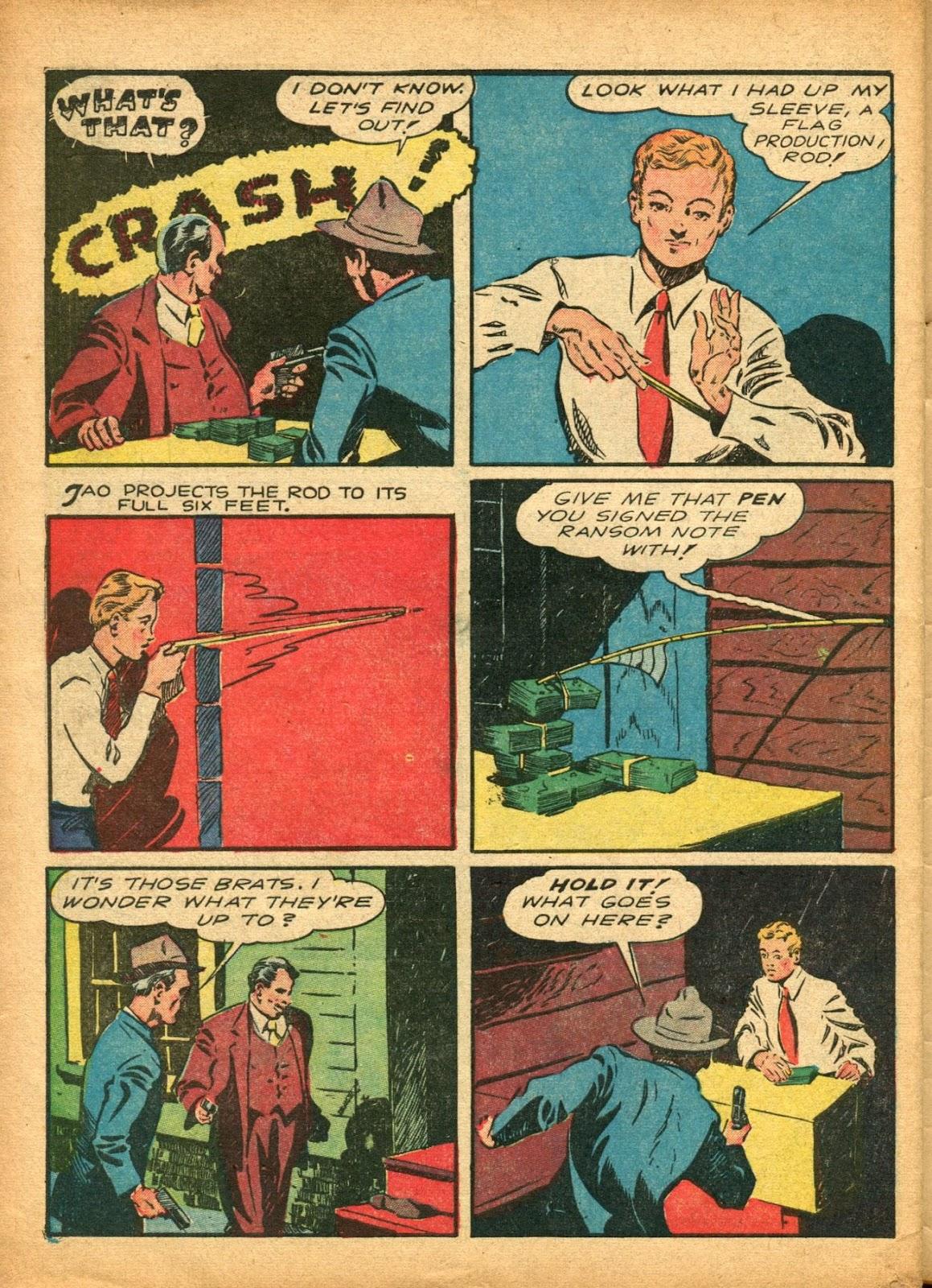 Read online Super-Magician Comics comic -  Issue #5 - 55