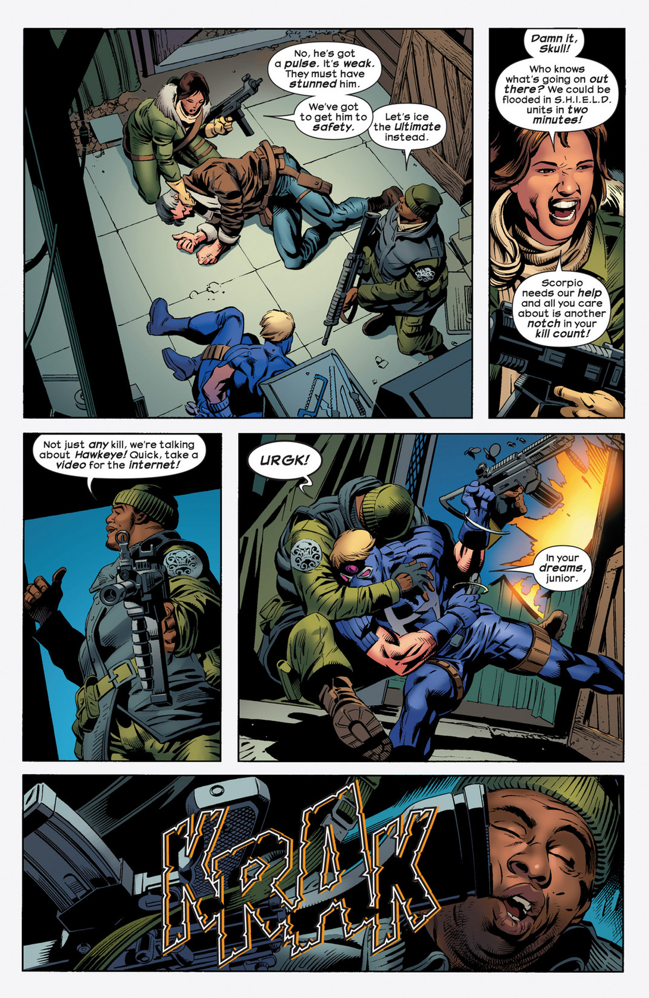 Read online Ultimate Comics Ultimates comic -  Issue #21 - 7