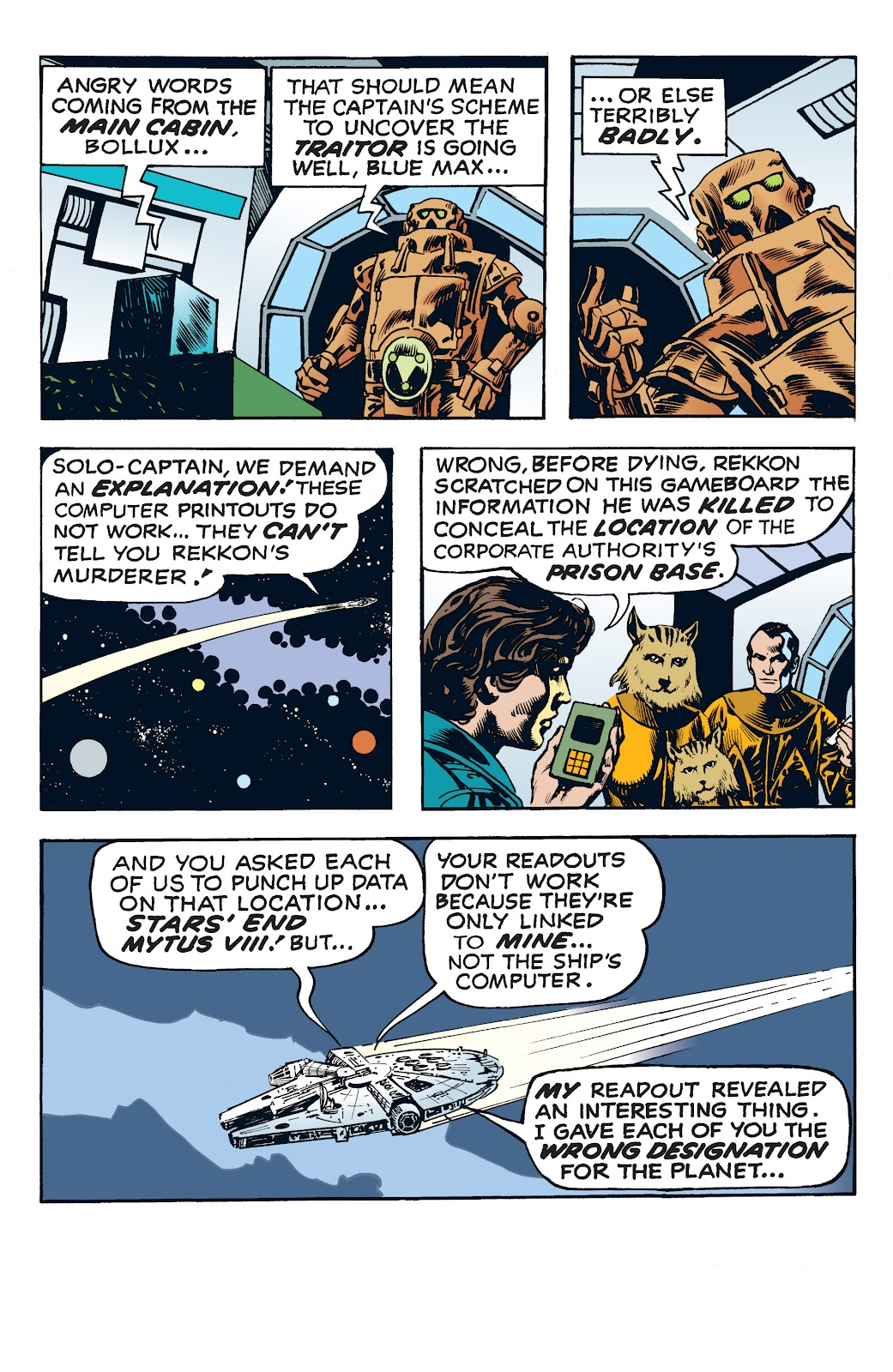 Read online Star Wars Legends: The Newspaper Strips - Epic Collection comic -  Issue # TPB (Part 4) - 44